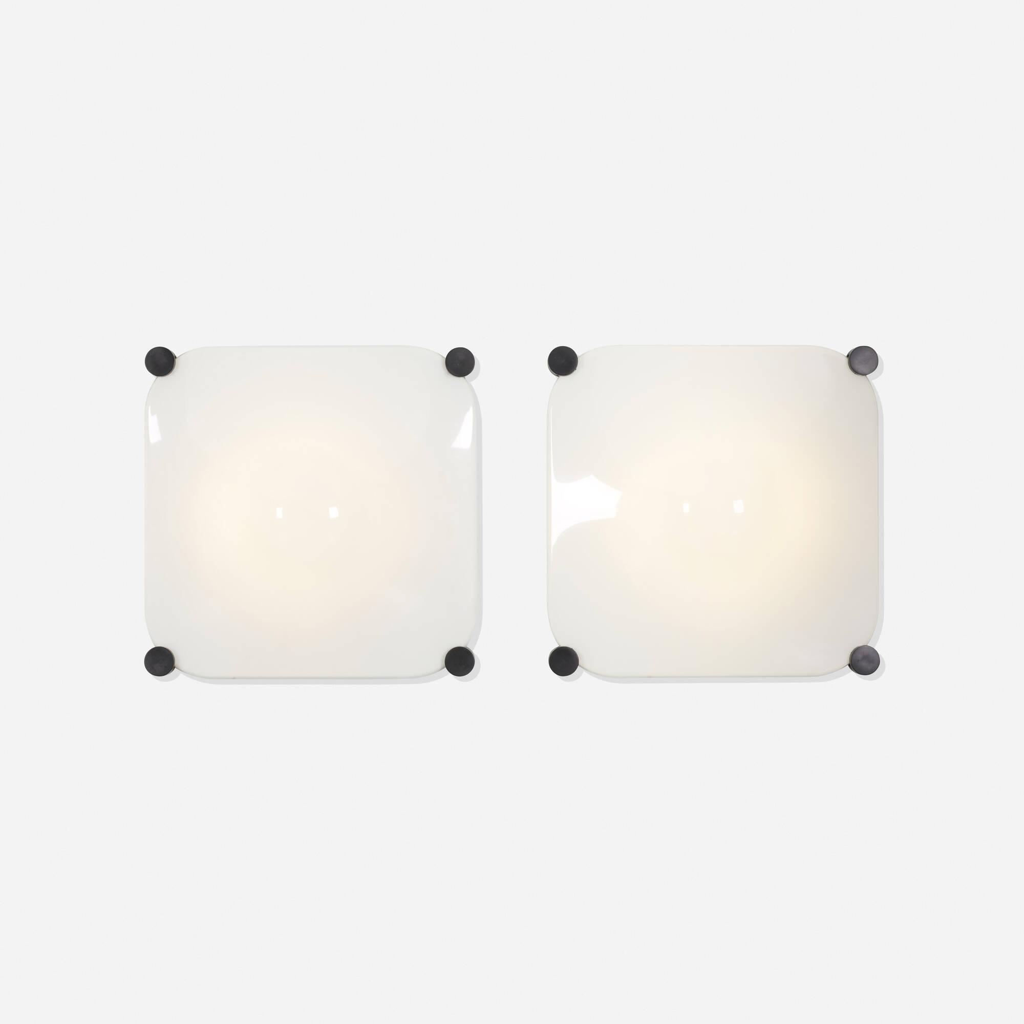 331: Elio Martinelli / Bolla Luminous wall panels, pair (2 of 2)