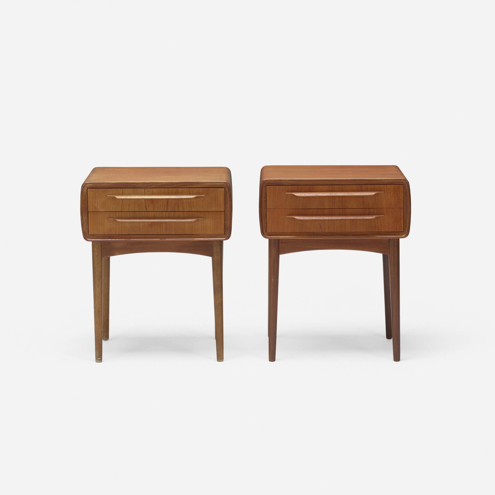 331: Johannes Andersen / nightstands, pair (2 of 3)