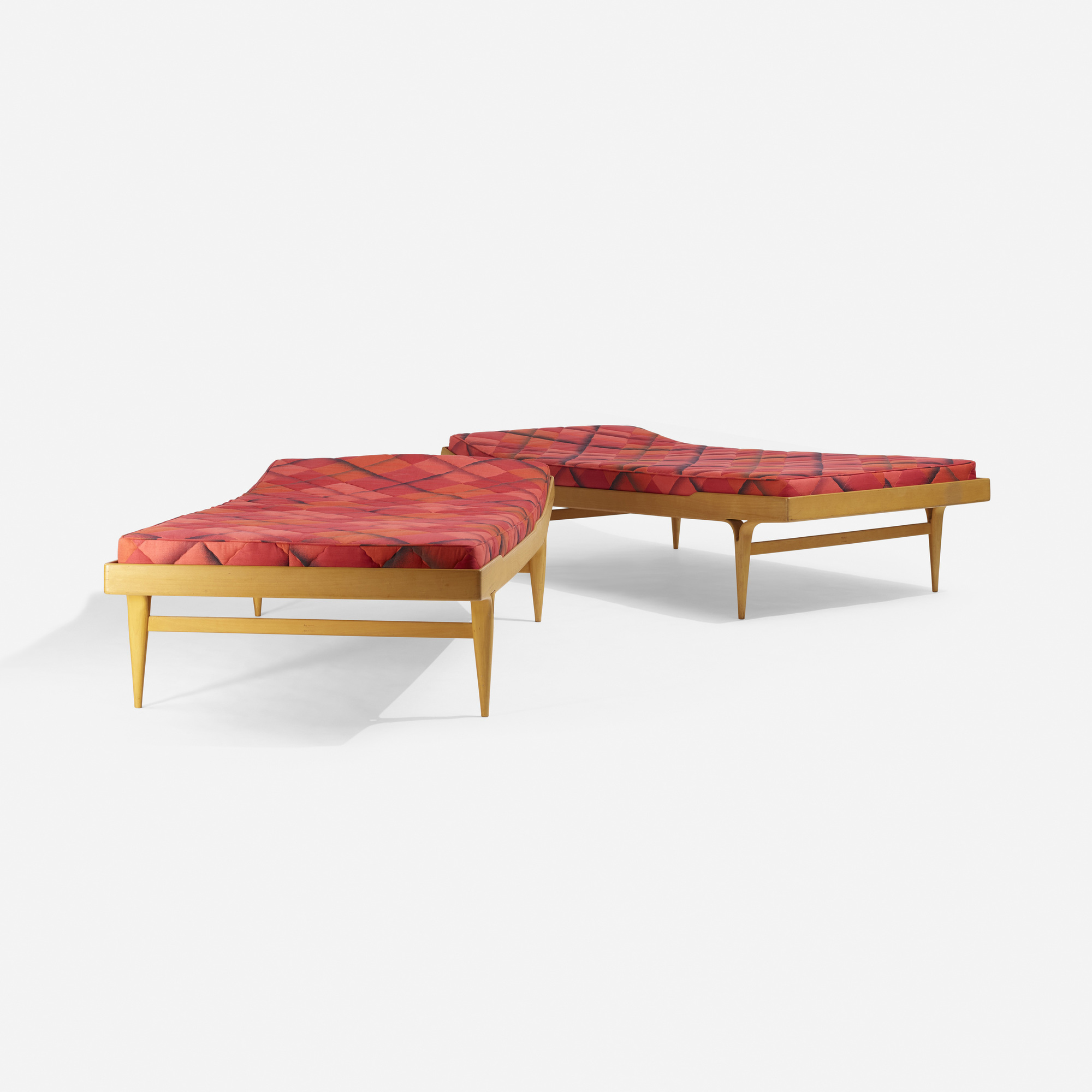 331: Bruno Mathsson / daybeds, pair (2 of 3)