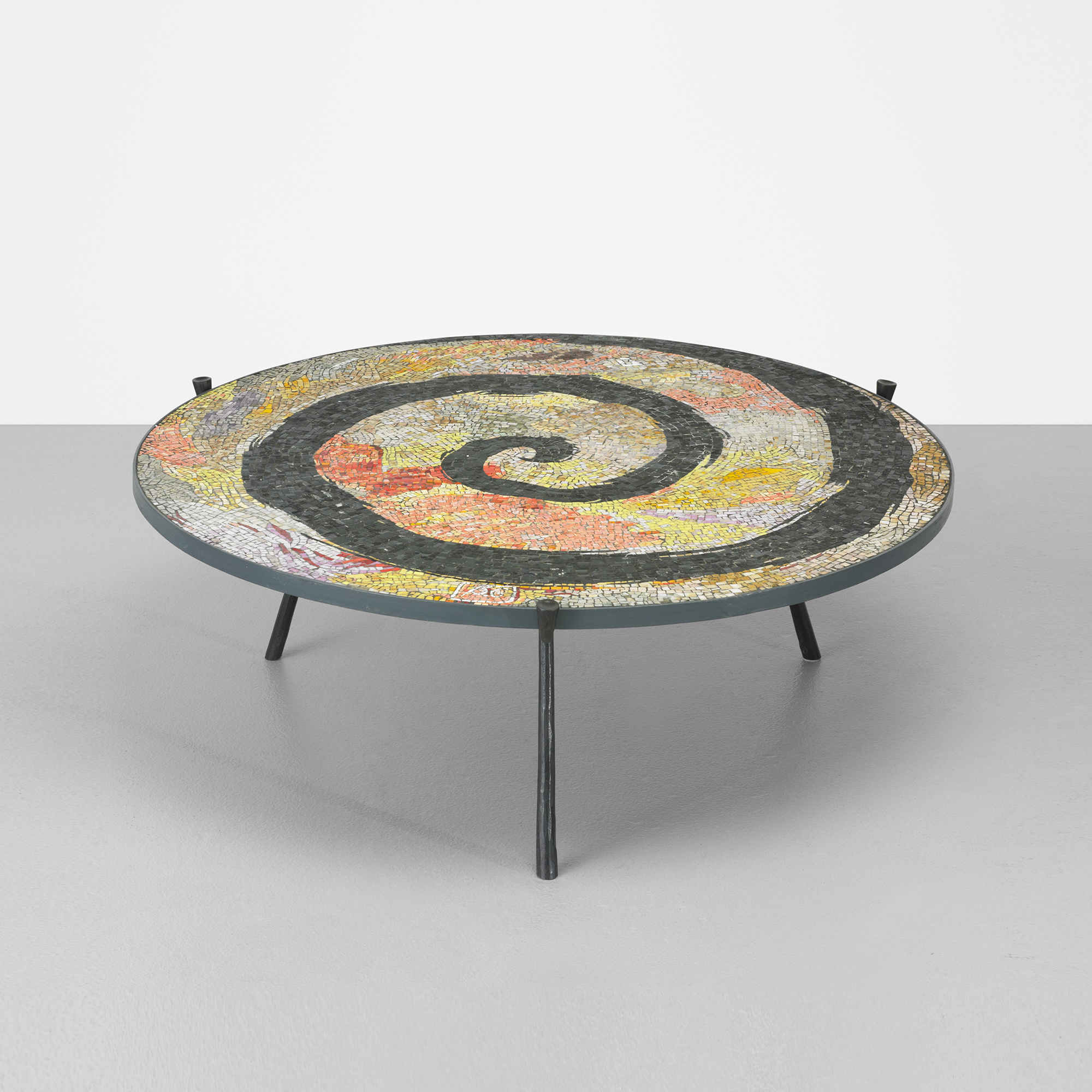 332 Elizabeth Garouste And Mattia Bonetti Spiral Coffee Table 1 Of 5