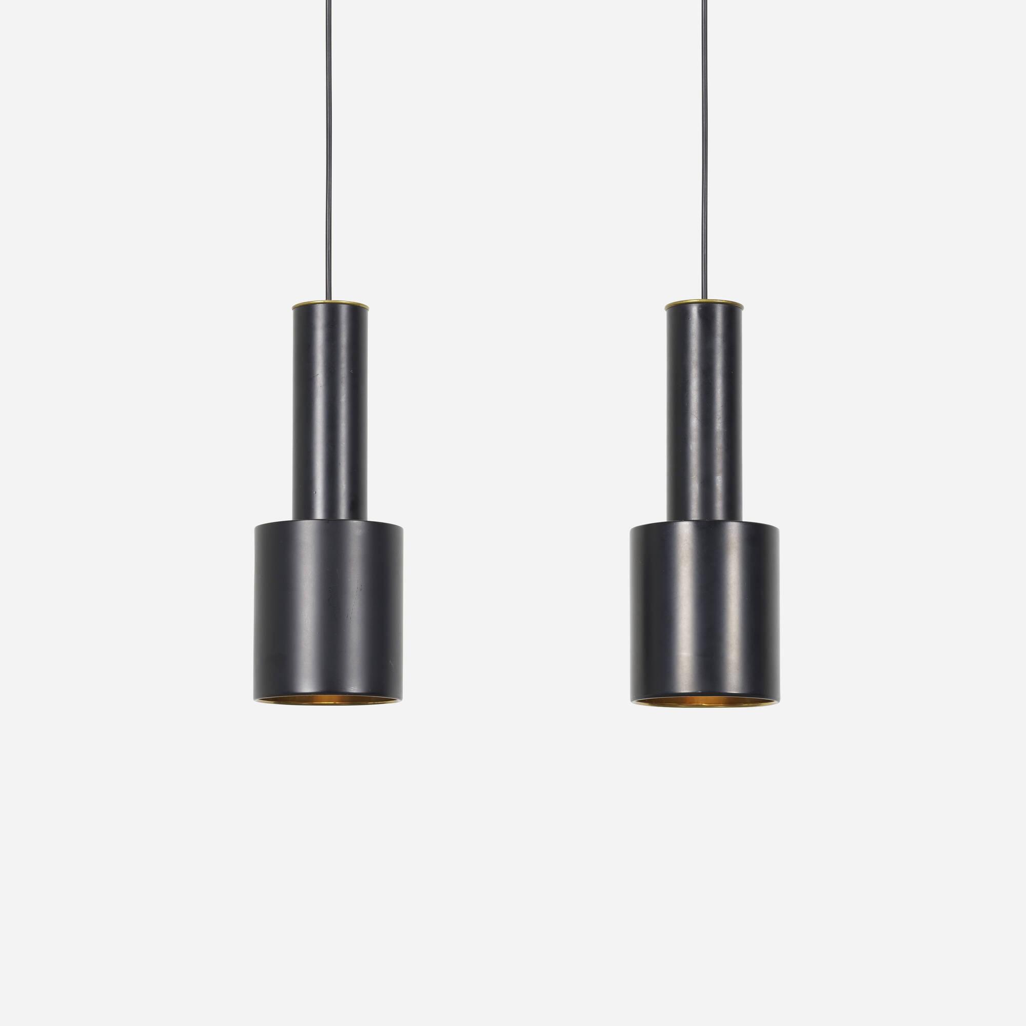 332: Alvar Aalto / pendant lamps, pair (1 of 1)