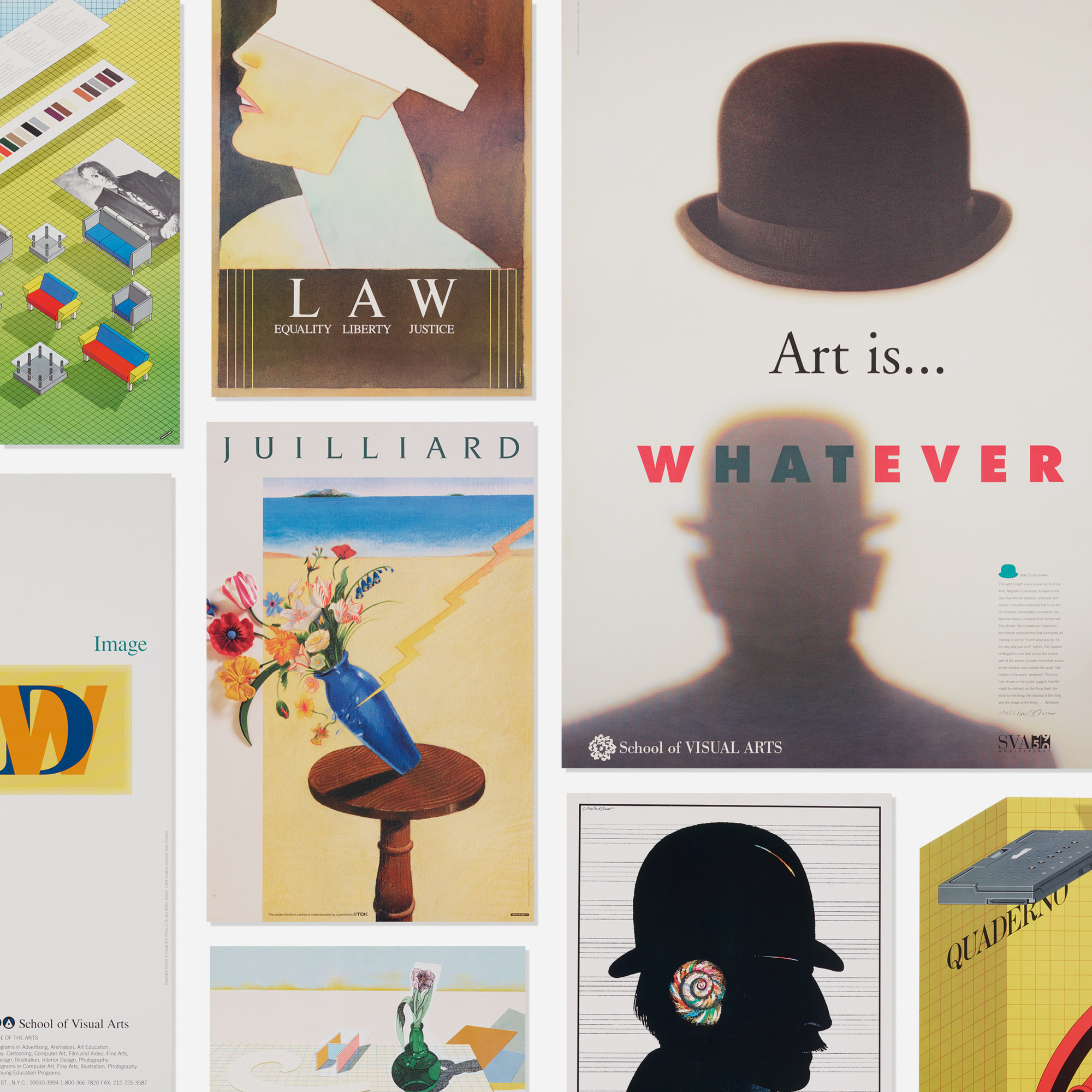 333: Milton Glaser / collection of twenty-five posters (1 of 1)