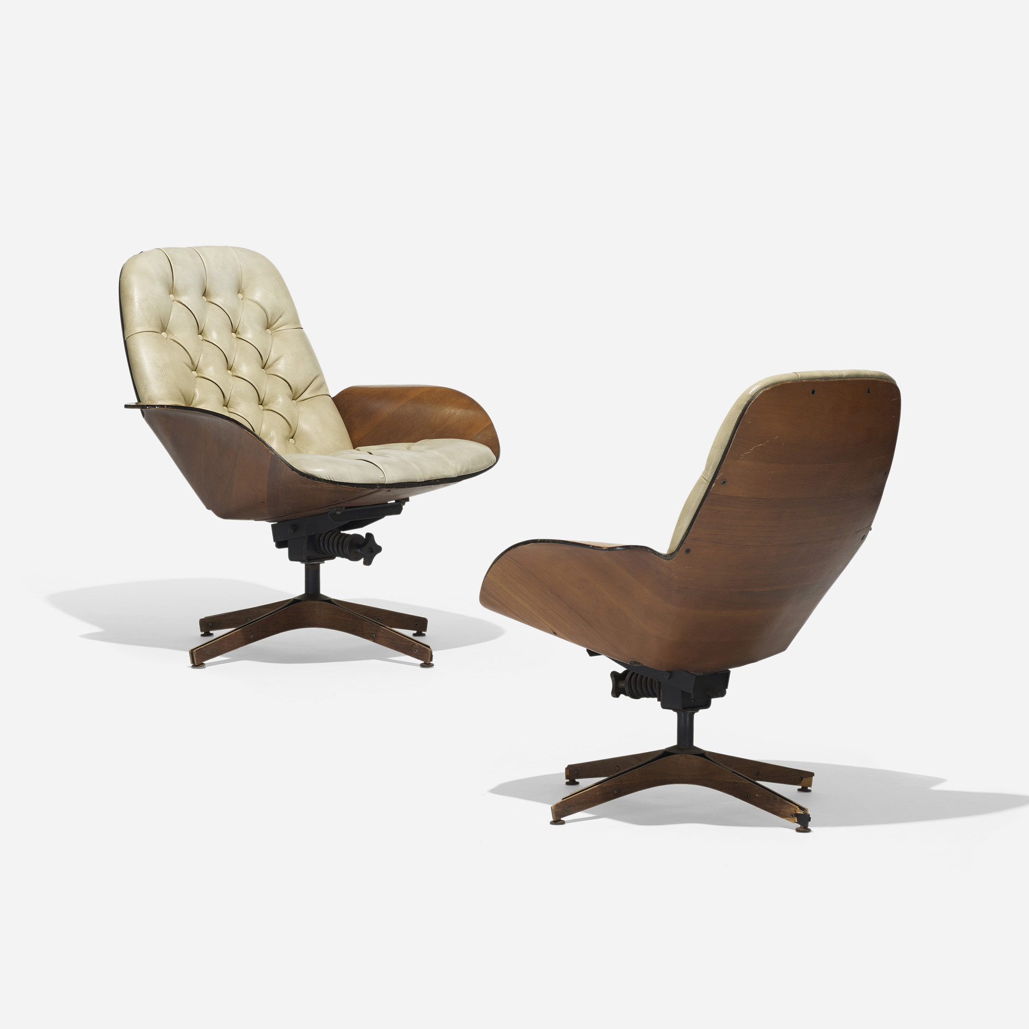 334: George Mulhauser / Mr. Chair Lounge Chairs, Pair (1 Of 4