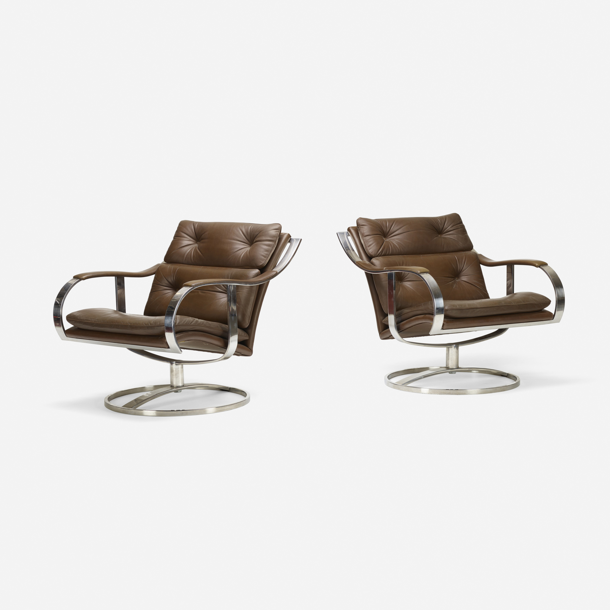 334: Gardner Leaver / lounge chairs, pair (1 of 2)