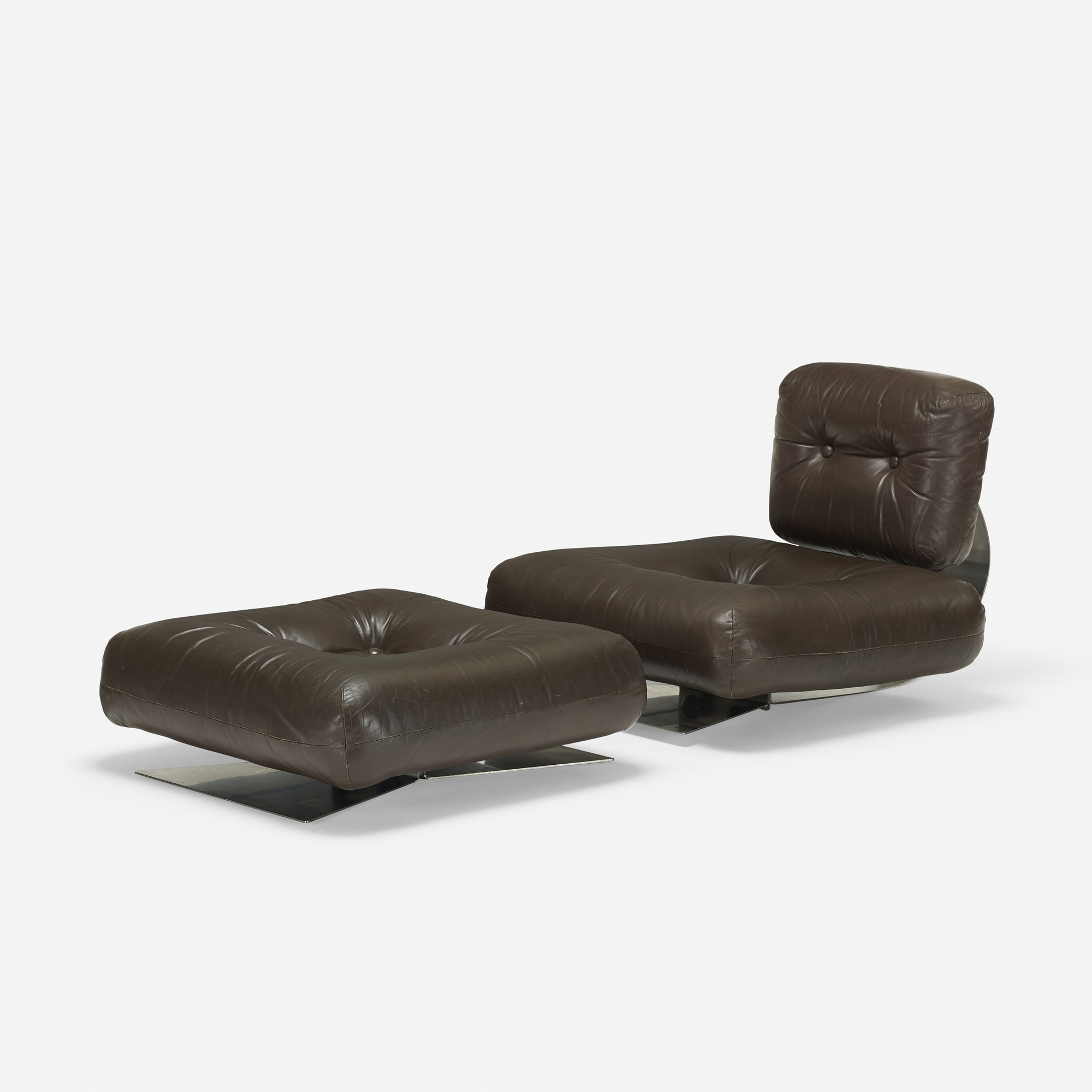 334 Oscar Niemeyer Lounge Chair And Ottoman 2 Of 3