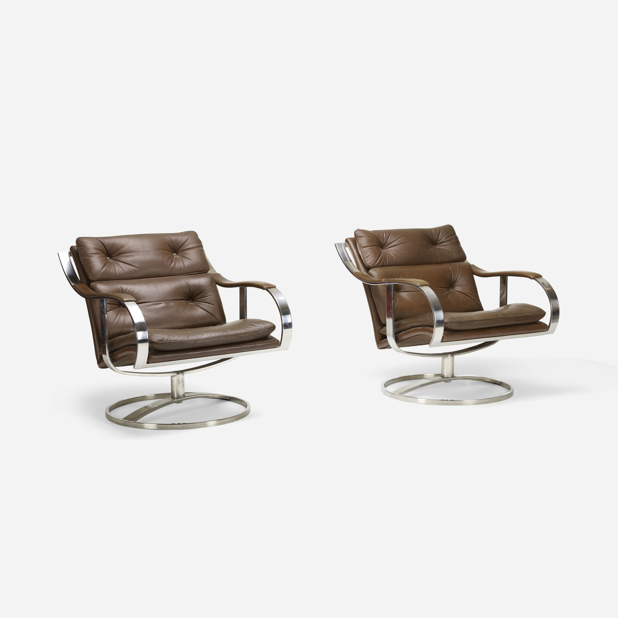 334: Gardner Leaver / lounge chairs, pair (2 of 2)