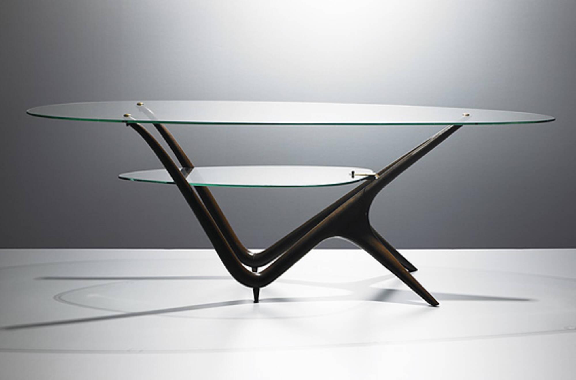 Marvelous 335 Carlo Mollino Coffee Table Model 1114 Modern Inzonedesignstudio Interior Chair Design Inzonedesignstudiocom
