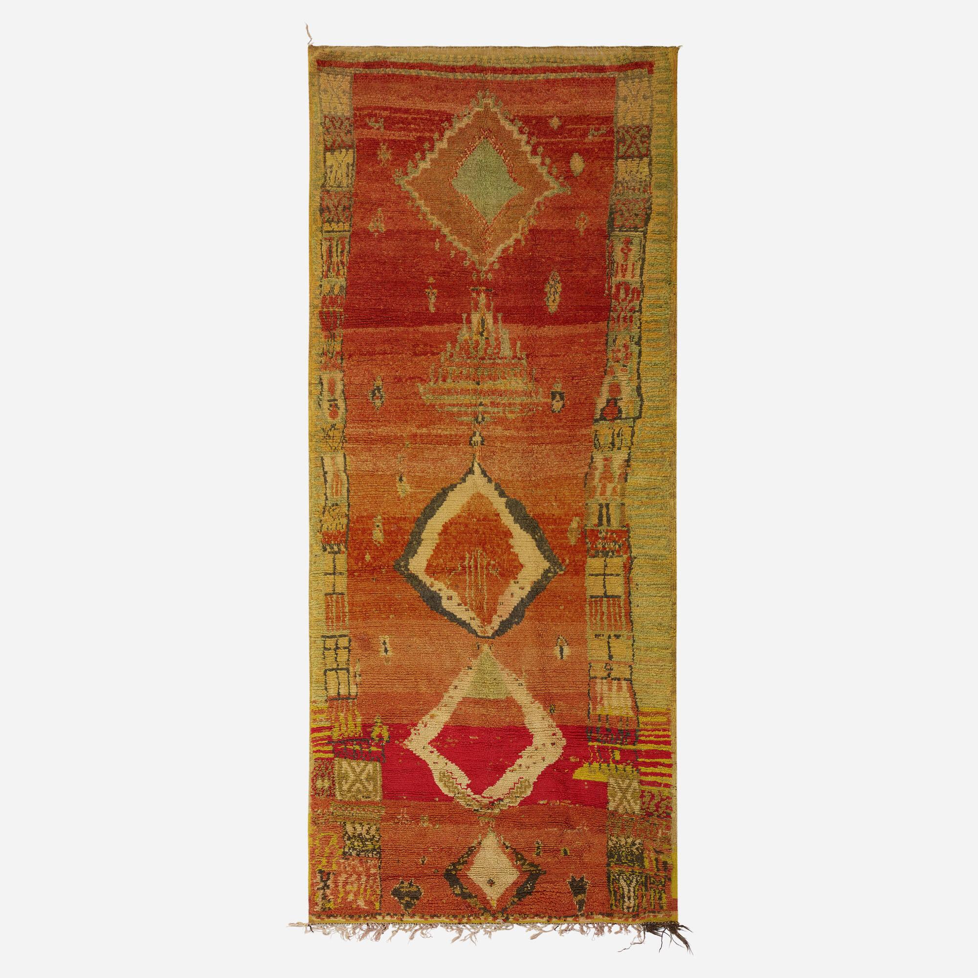 337: Moroccan / pile carpet (1 of 1)