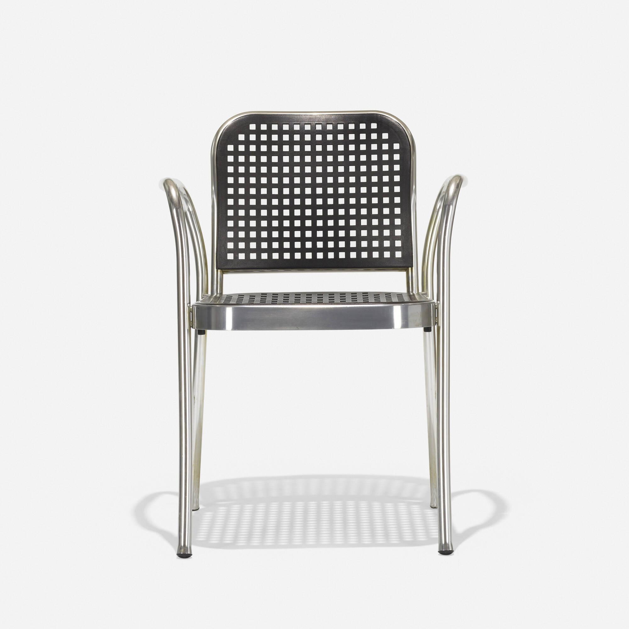 338: Vico Magistretti / Silver chair (2 of 3)