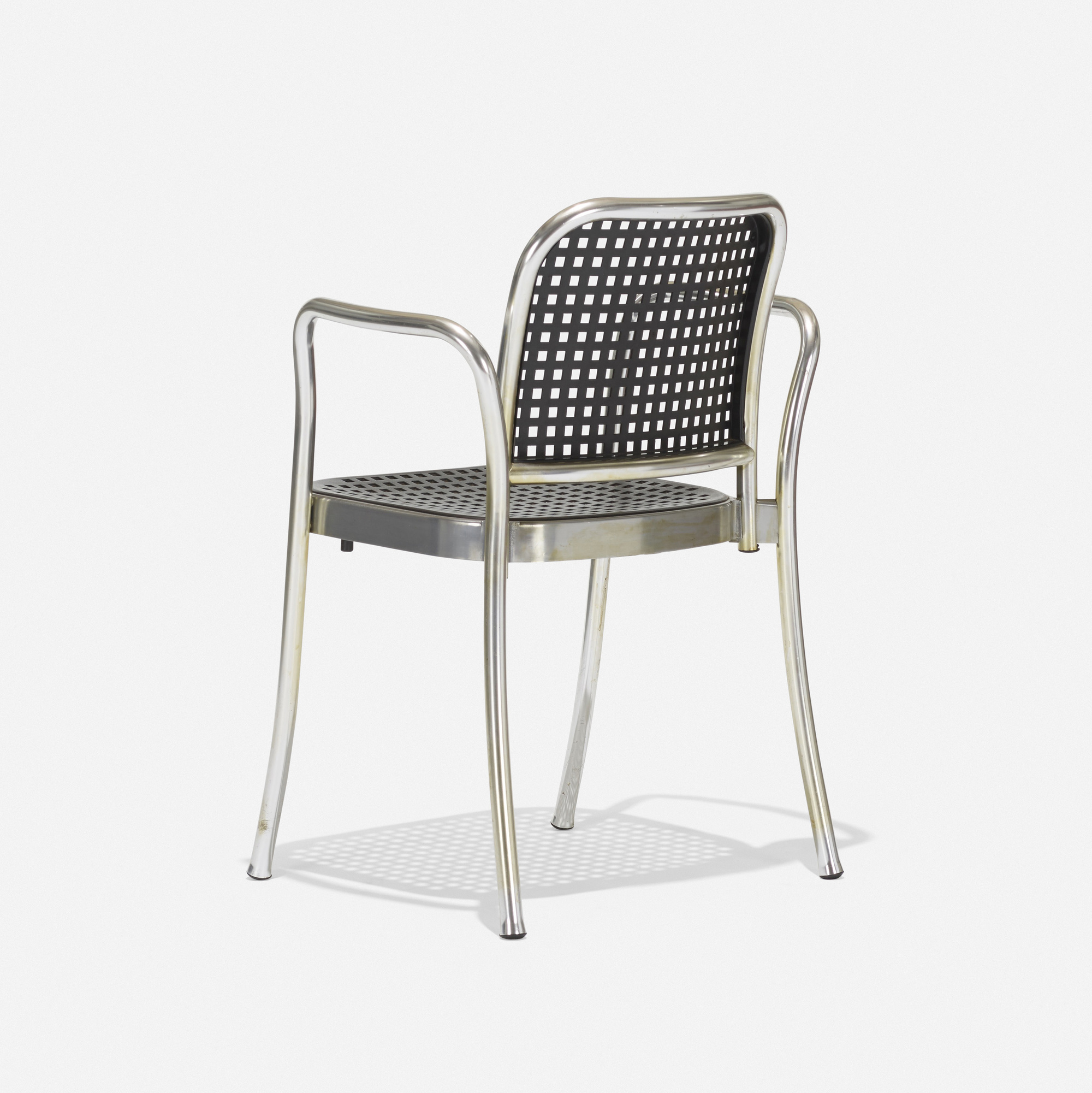Silver chair furniture -  338 Vico Magistretti Silver Chair 3 Of 3