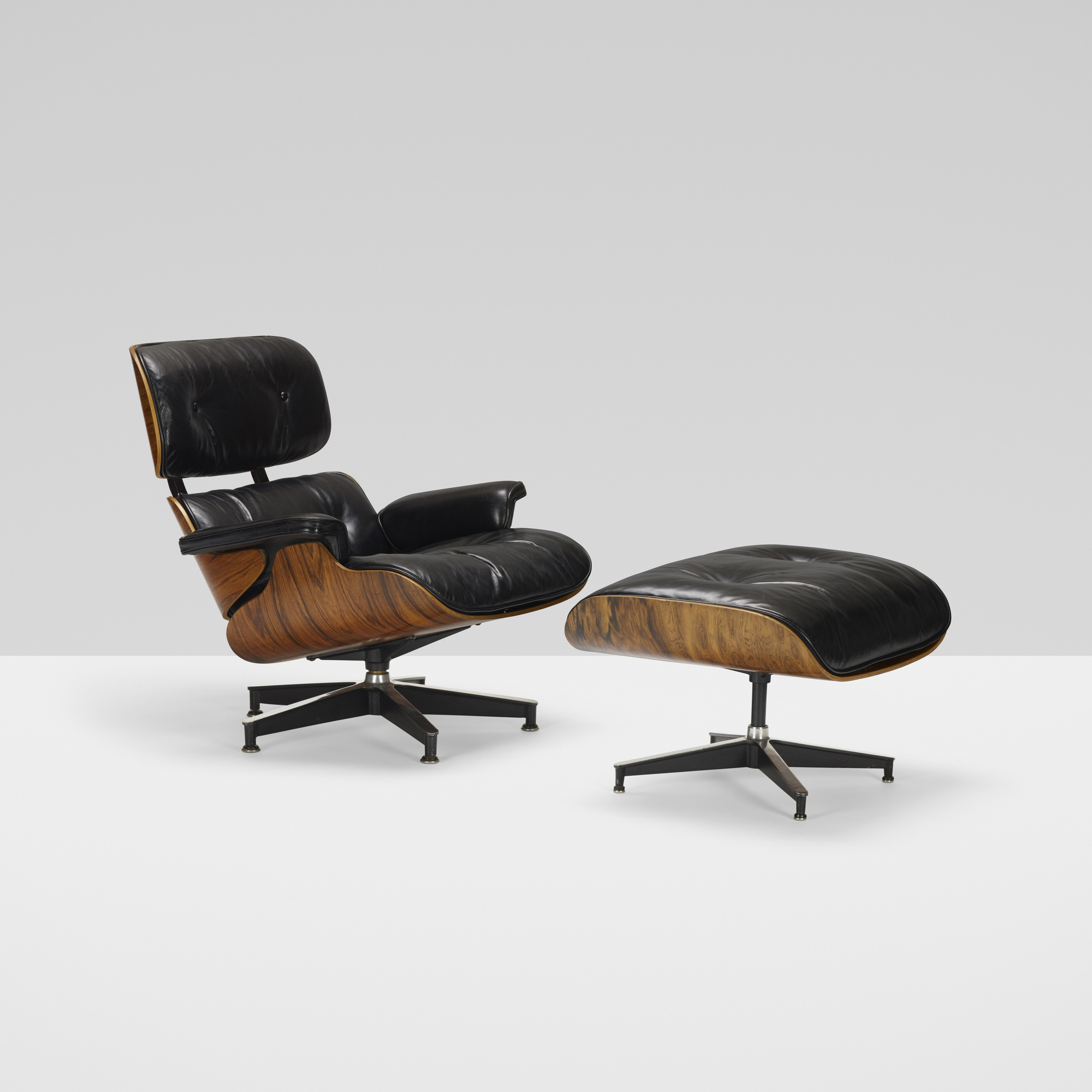 339: Charles and Ray Eames / 670 lounge chair and 671 ottoman (2 of 4)