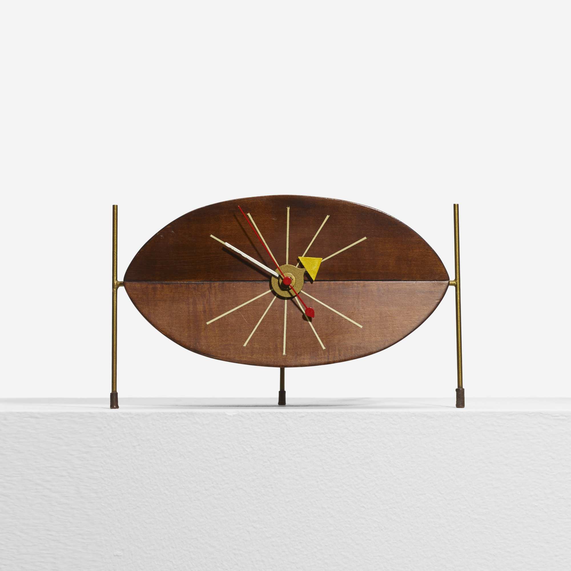 340: George Nelson & Associates / Watermelon table clock, model 2219D (1 of 4)
