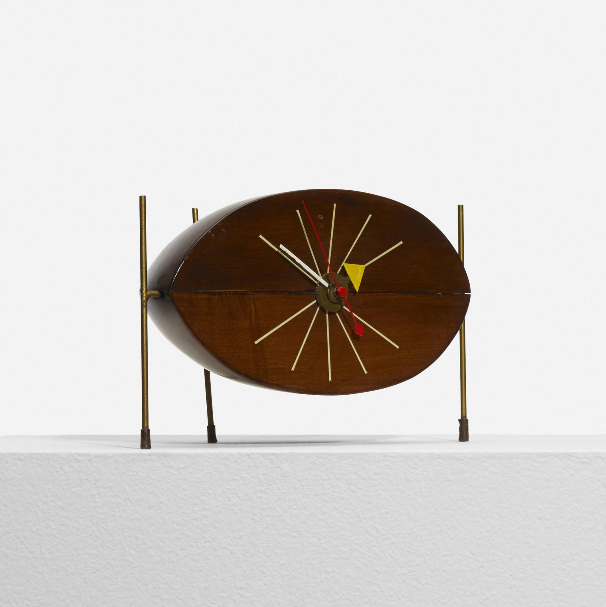 ... 340: George Nelson U0026 Associates / Watermelon Table Clock, Model 2219D  (2 Of