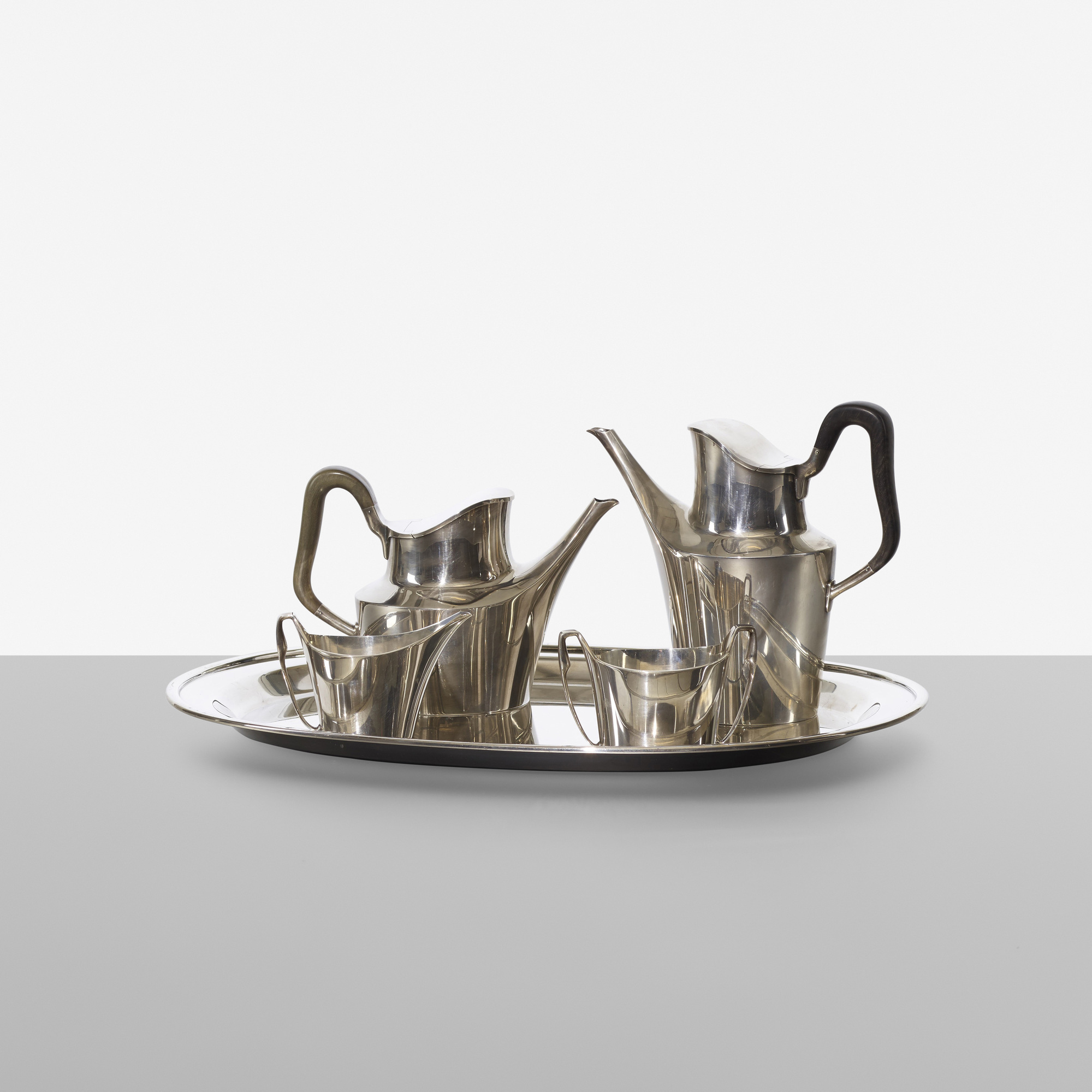 340: Hans Hansen / coffee and tea service (2 of 2)