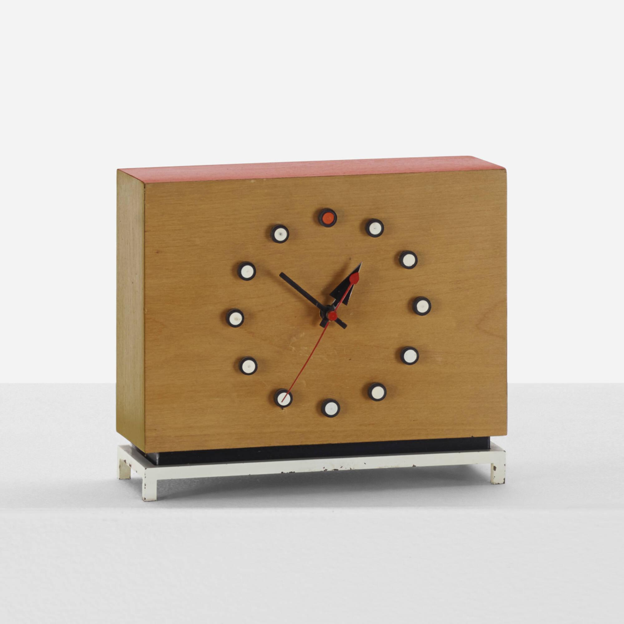 Marvelous 341: George Nelson U0026 Associates / Table Clock, Model 4761 (1 Of 2