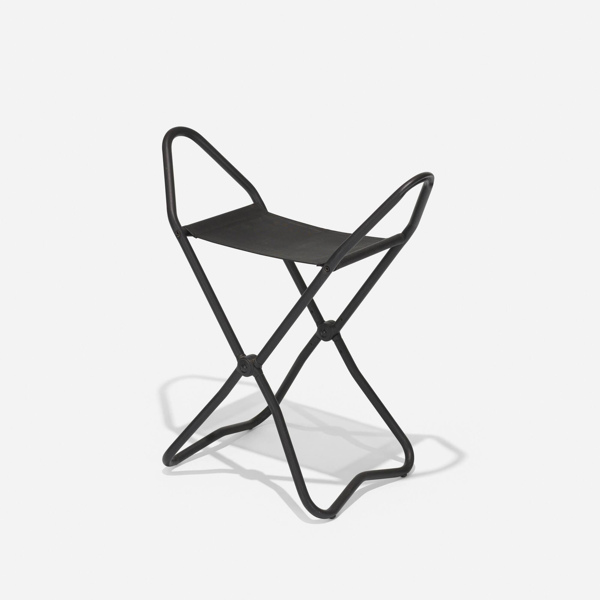 341: A & E Design (Tom Ahlström and Hans Ehrich) / Stockholm II folding stool (1 of 3)
