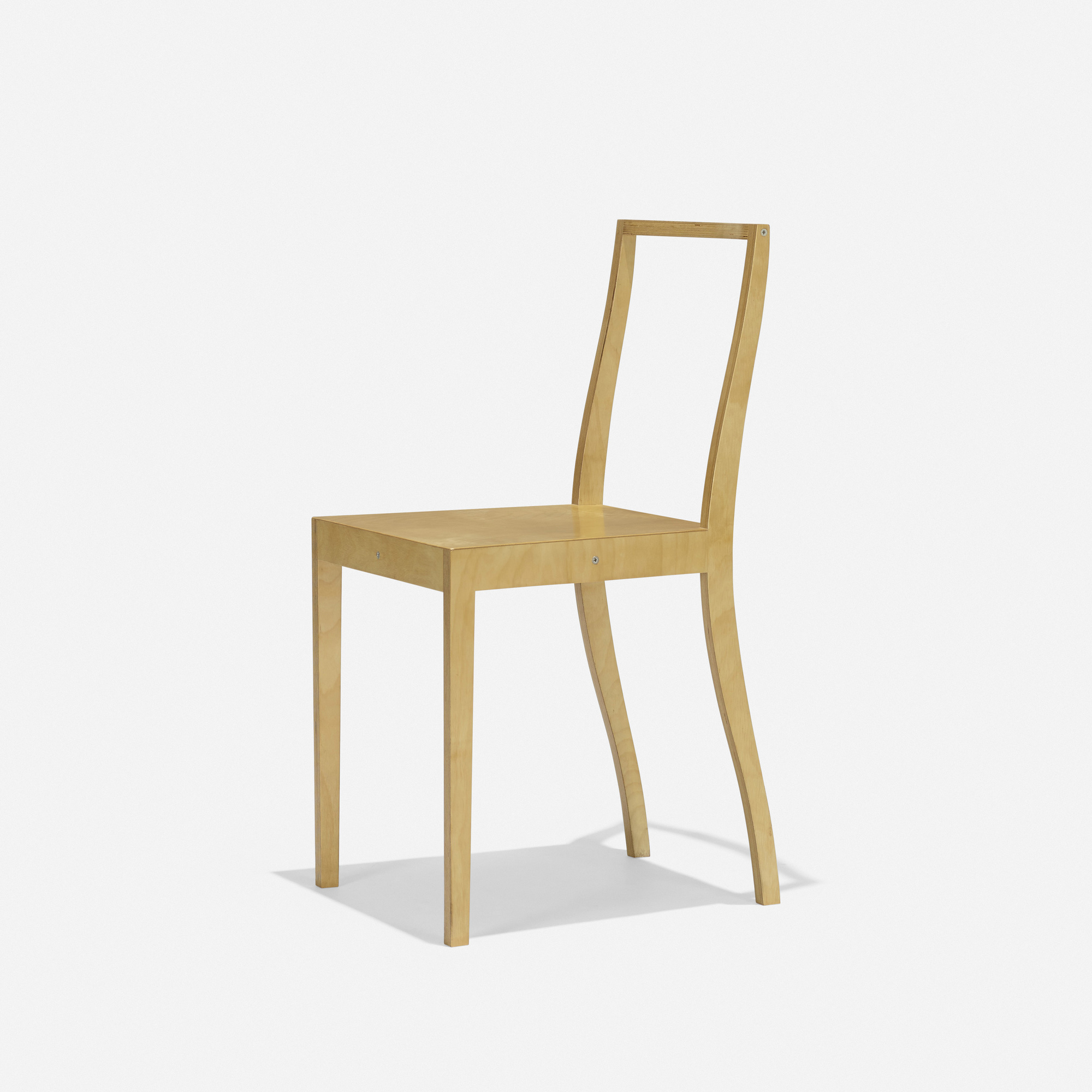 342 jasper morrison ply chair for Plywood chair morrison