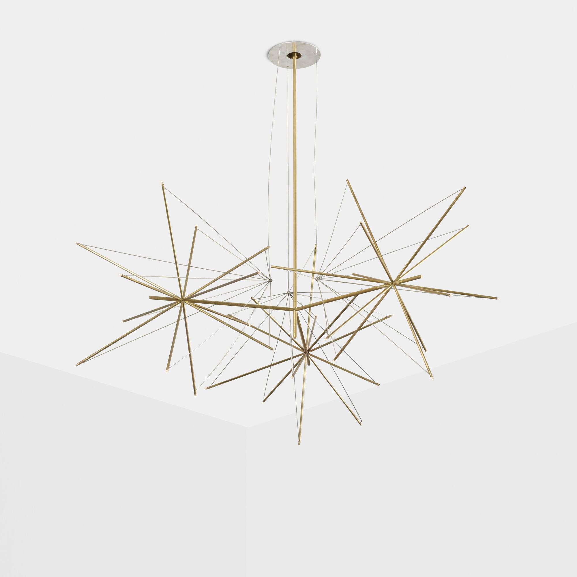 343: American / custom chandelier for the Washburn Residence (1 of 3)