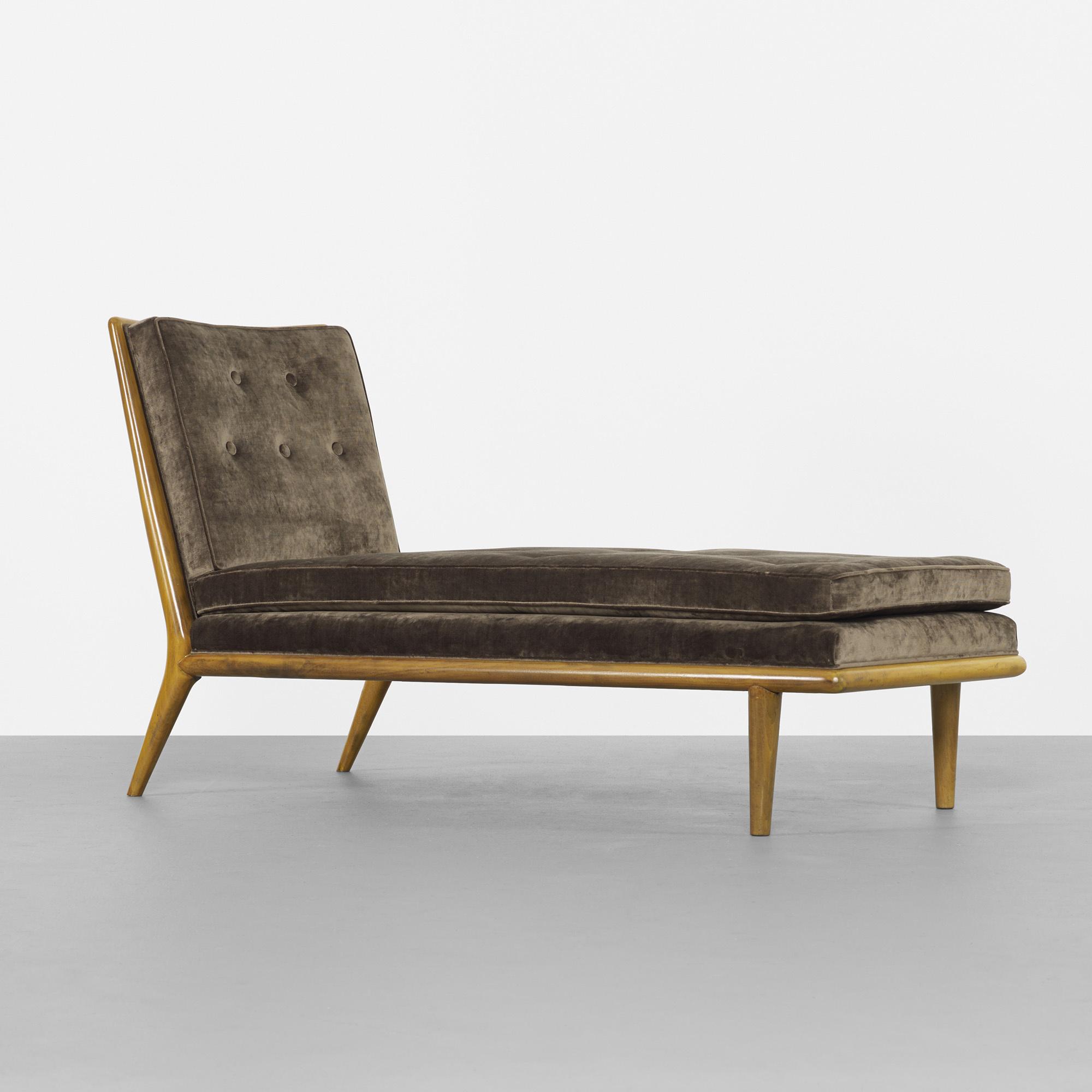 343 t h robsjohn gibbings day break chaise model 1708 for Chaise modele