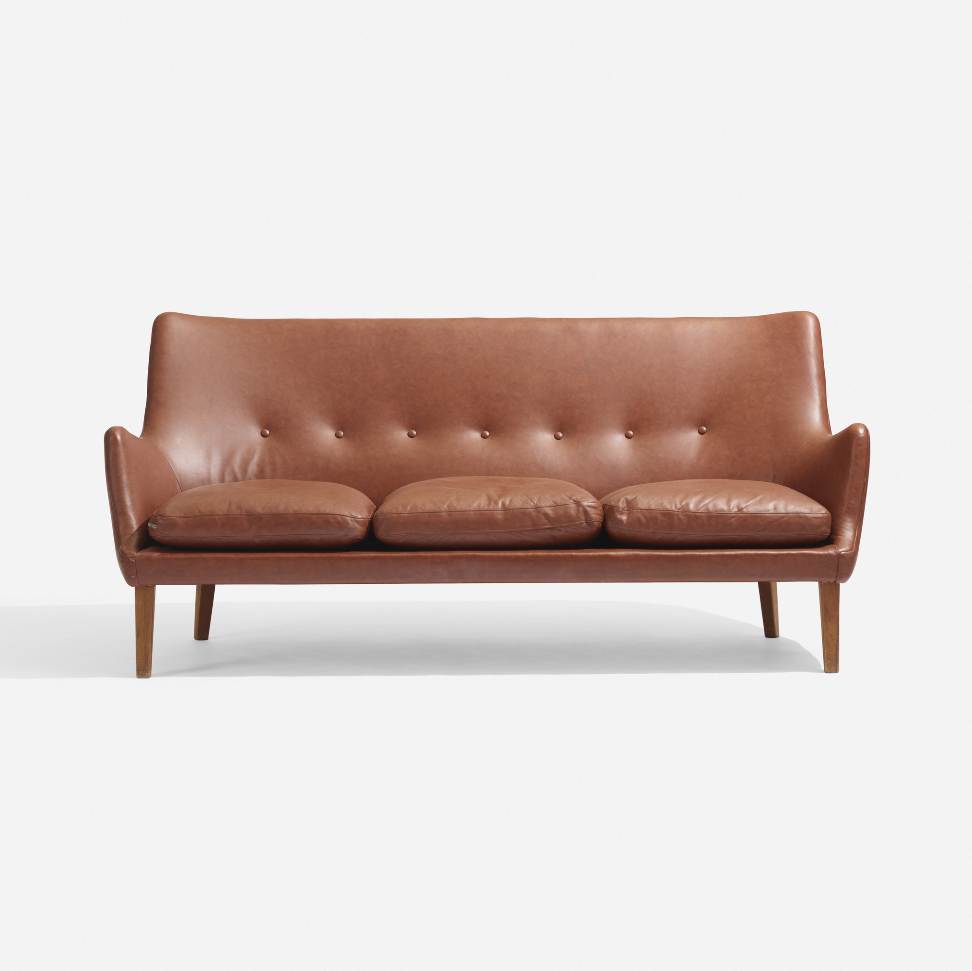 arne vodder sofa arne vodder sofa in green patinated leather lauritz thesofa. Black Bedroom Furniture Sets. Home Design Ideas