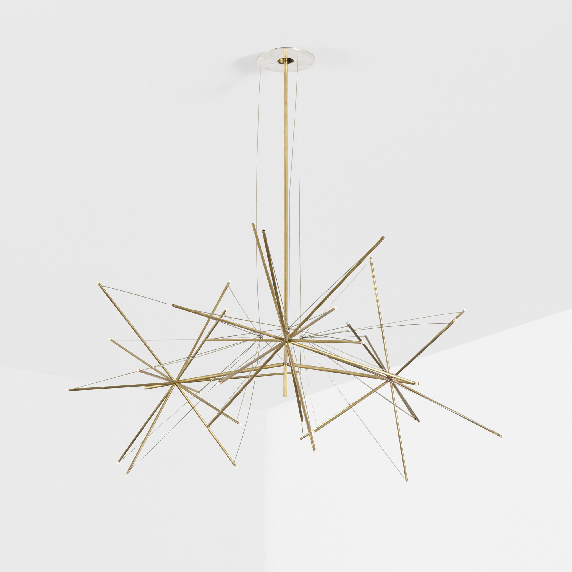 343: American / custom chandelier for the Washburn Residence (3 of 3)