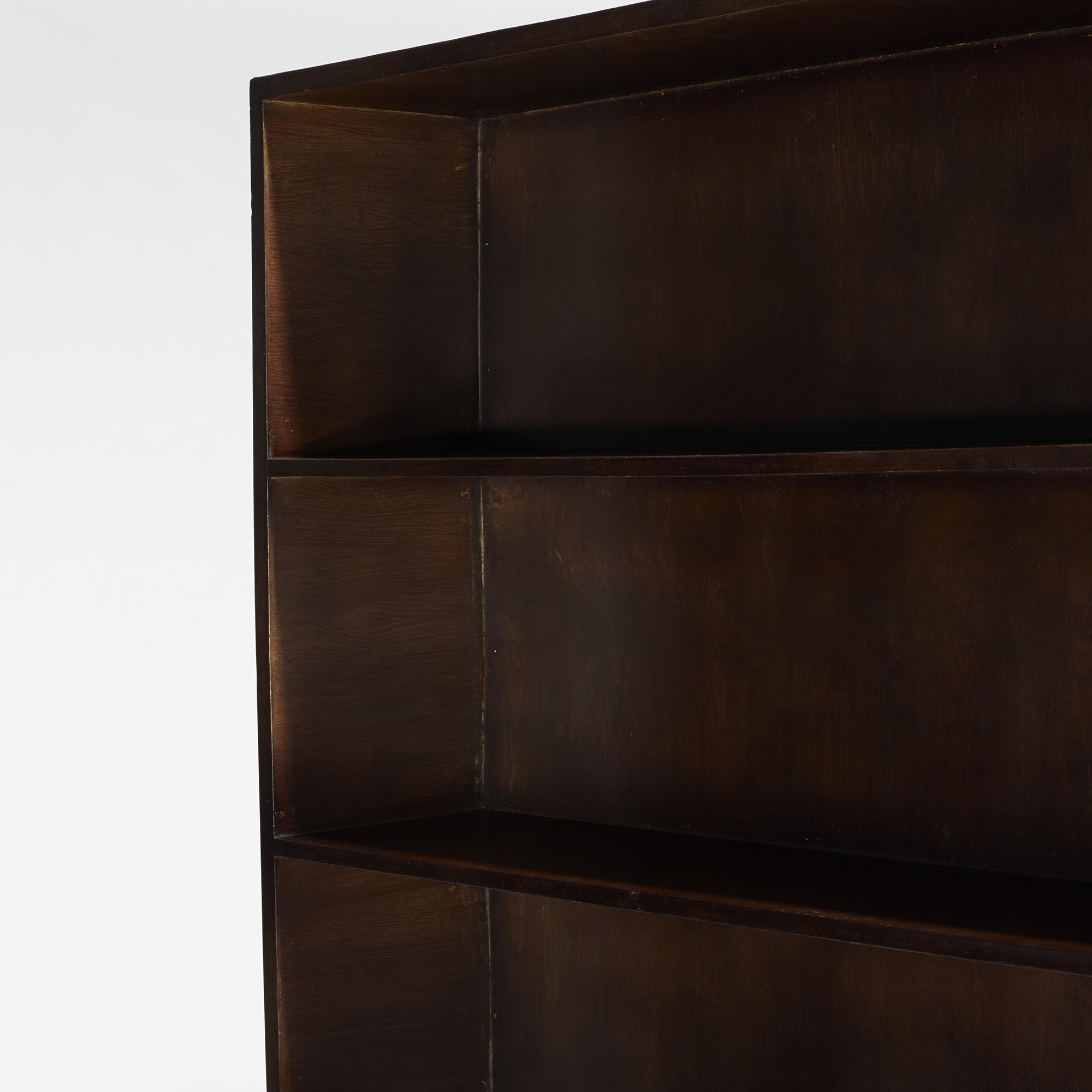 azea wood double l unfinished design by sided victor bookcase open hyragana concepts x international