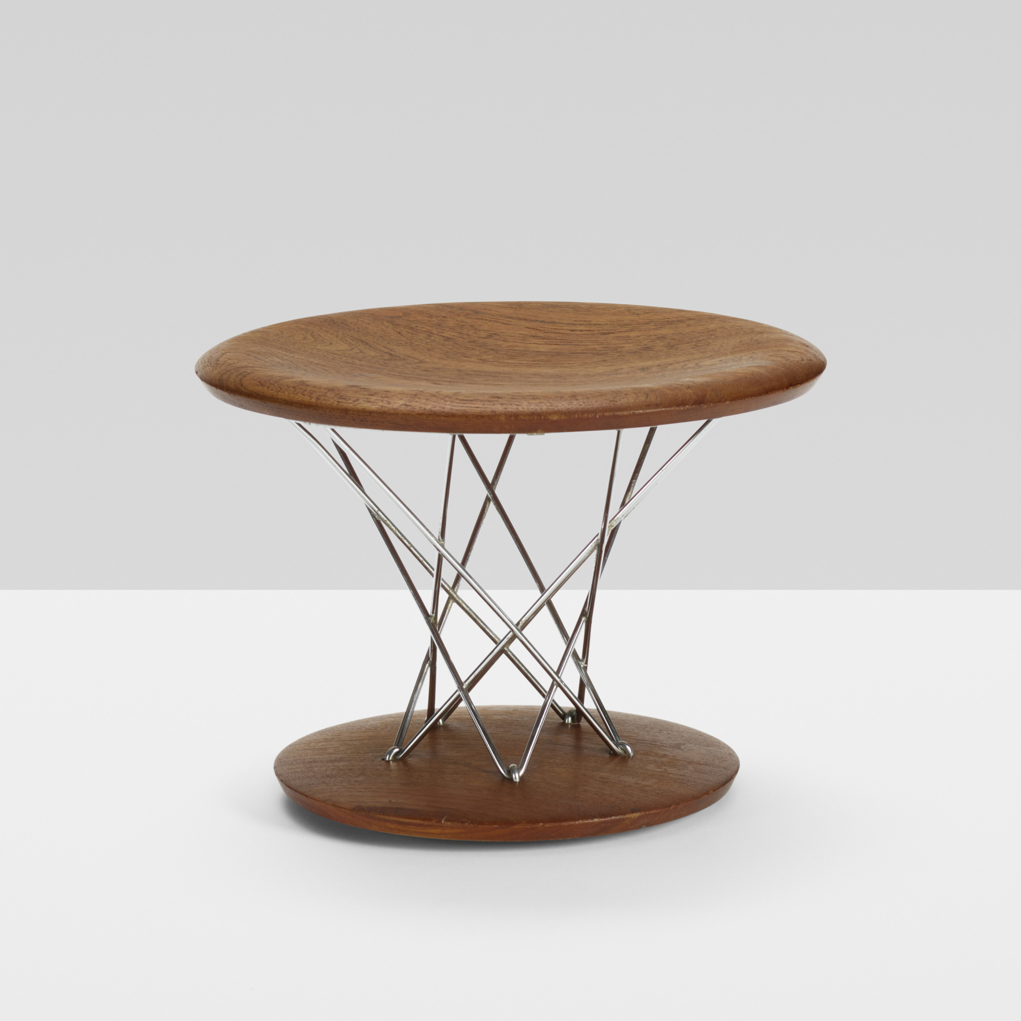 344: Isamu Noguchi / Rocking stool, model 85T (1 of 3)