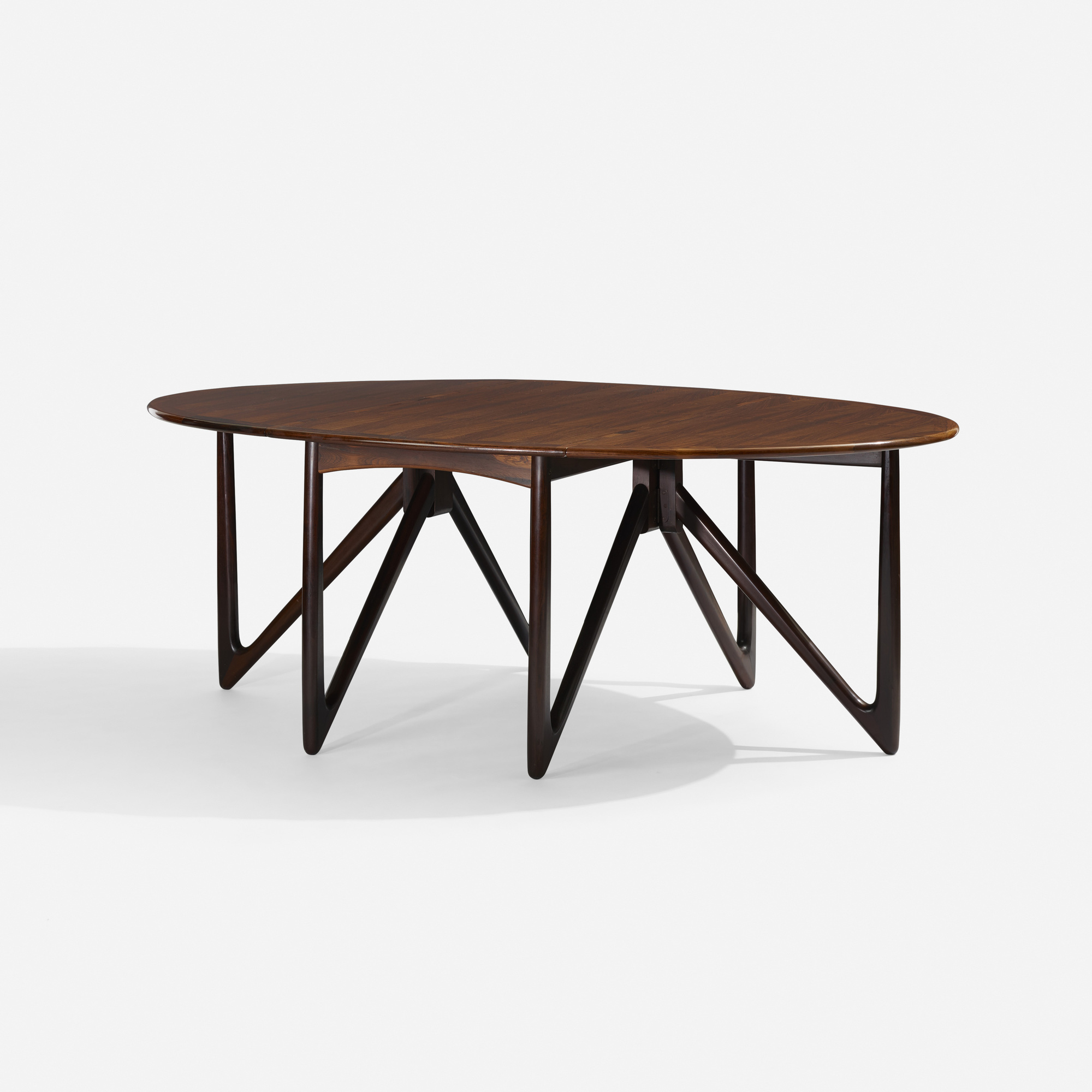 344: Kurt Østervig / drop-leaf dining table (1 of 3)