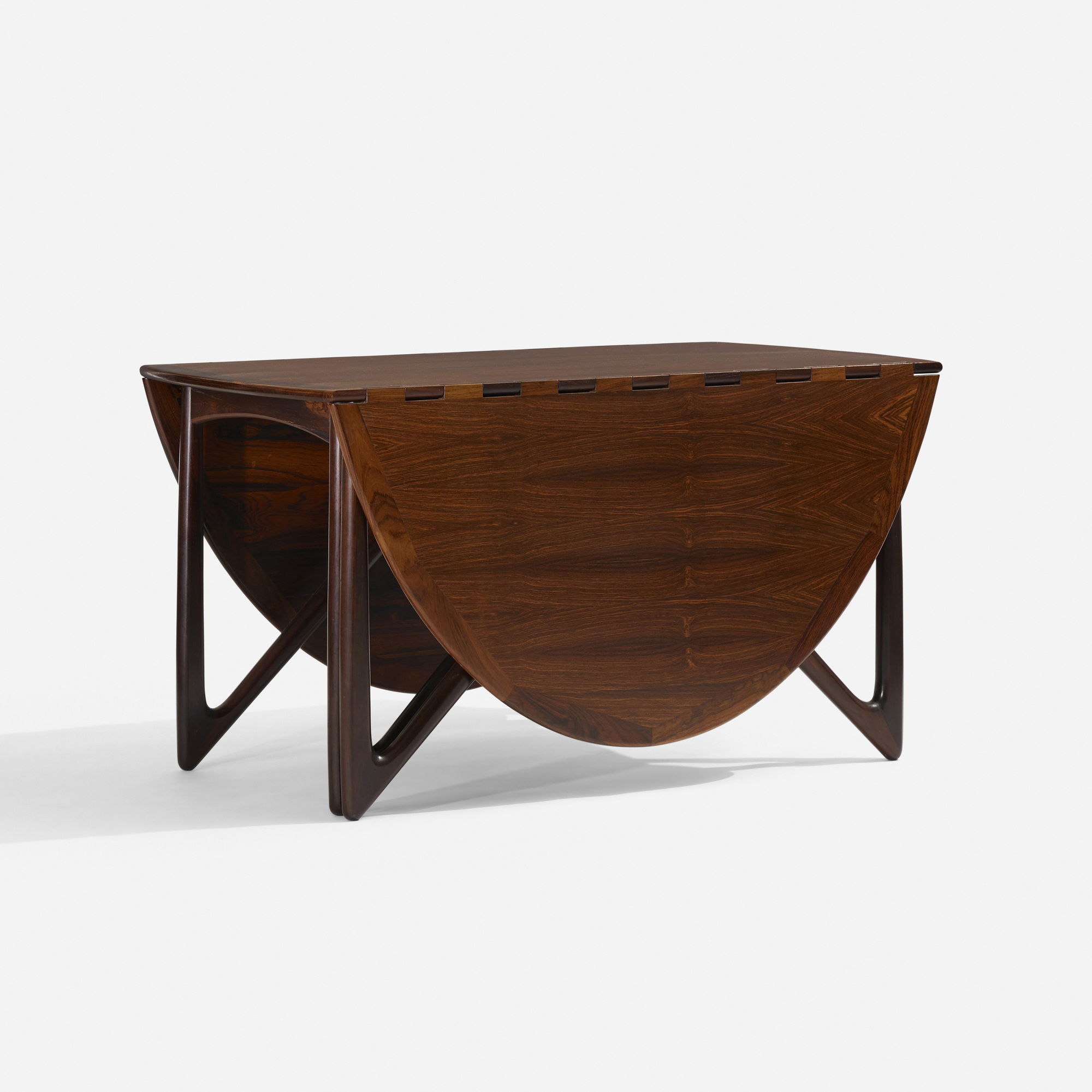 344: Kurt Østervig / drop-leaf dining table (2 of 3)