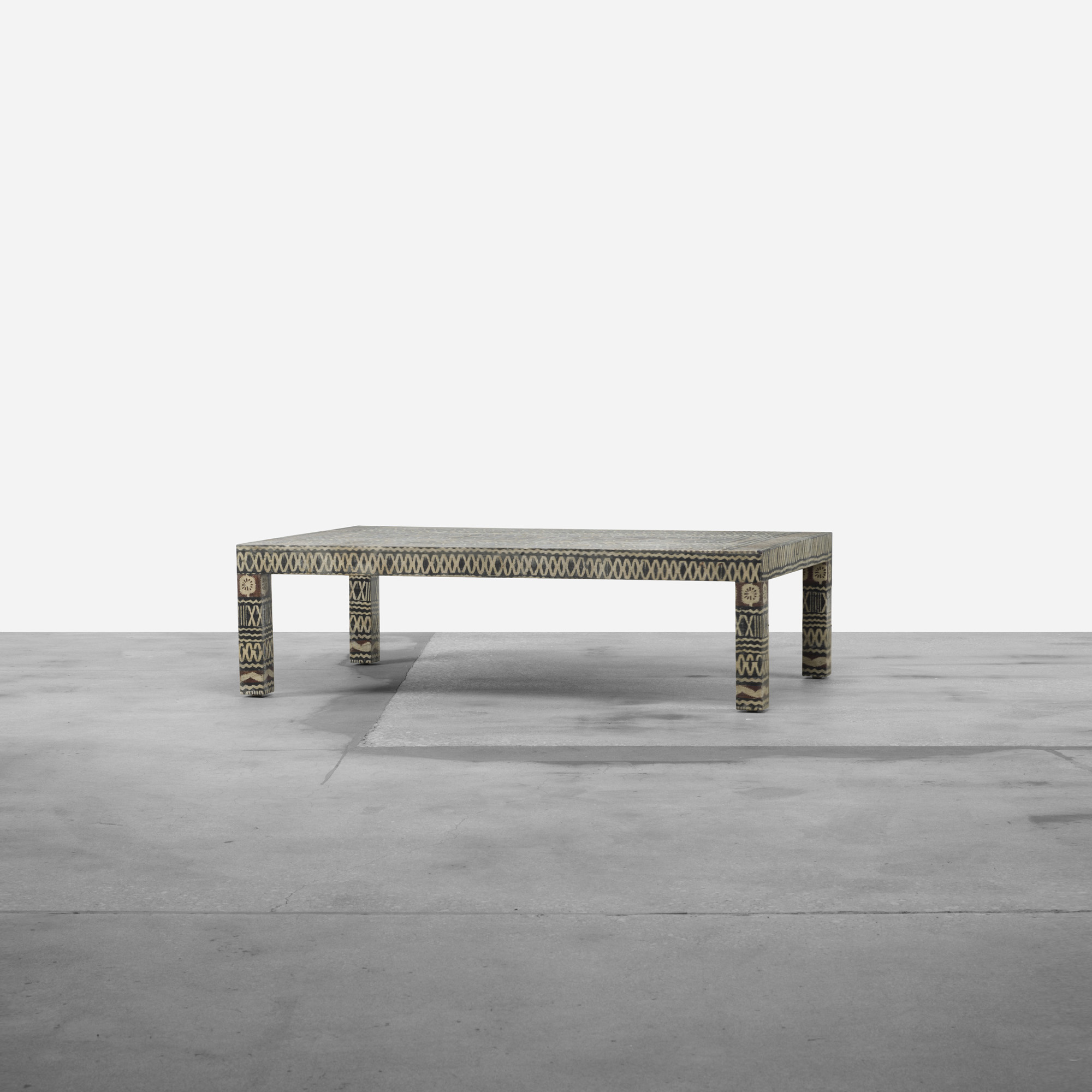 ... 346: Karl Springer / Coffee Table (2 Of 3)