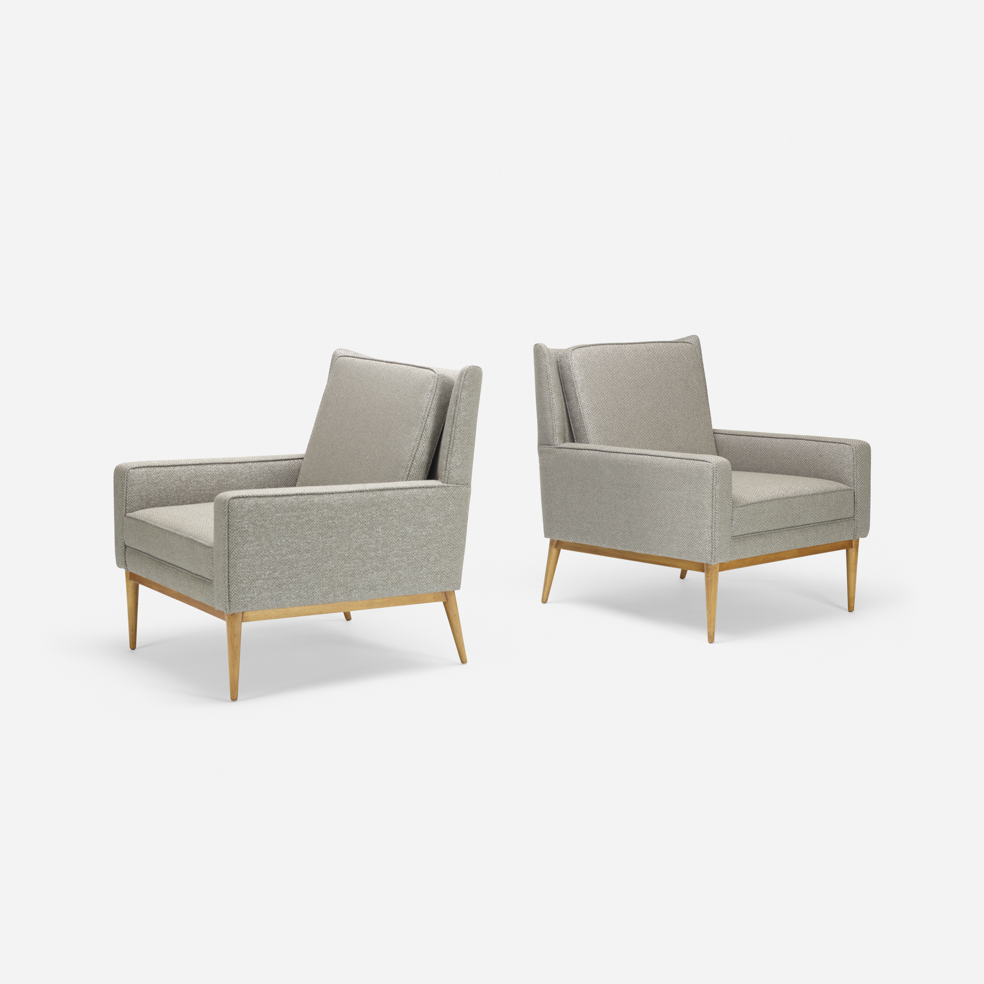 348: Paul McCobb / lounge chairs model 302, pair (1 of 3)