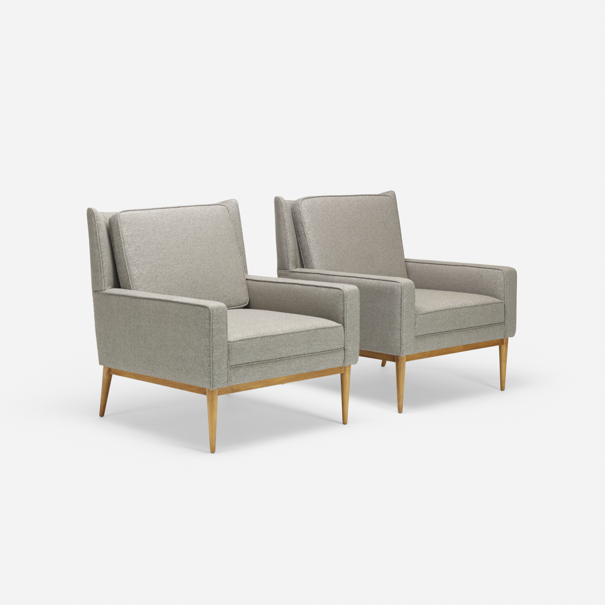 348: Paul McCobb / lounge chairs model 302, pair (2 of 3)