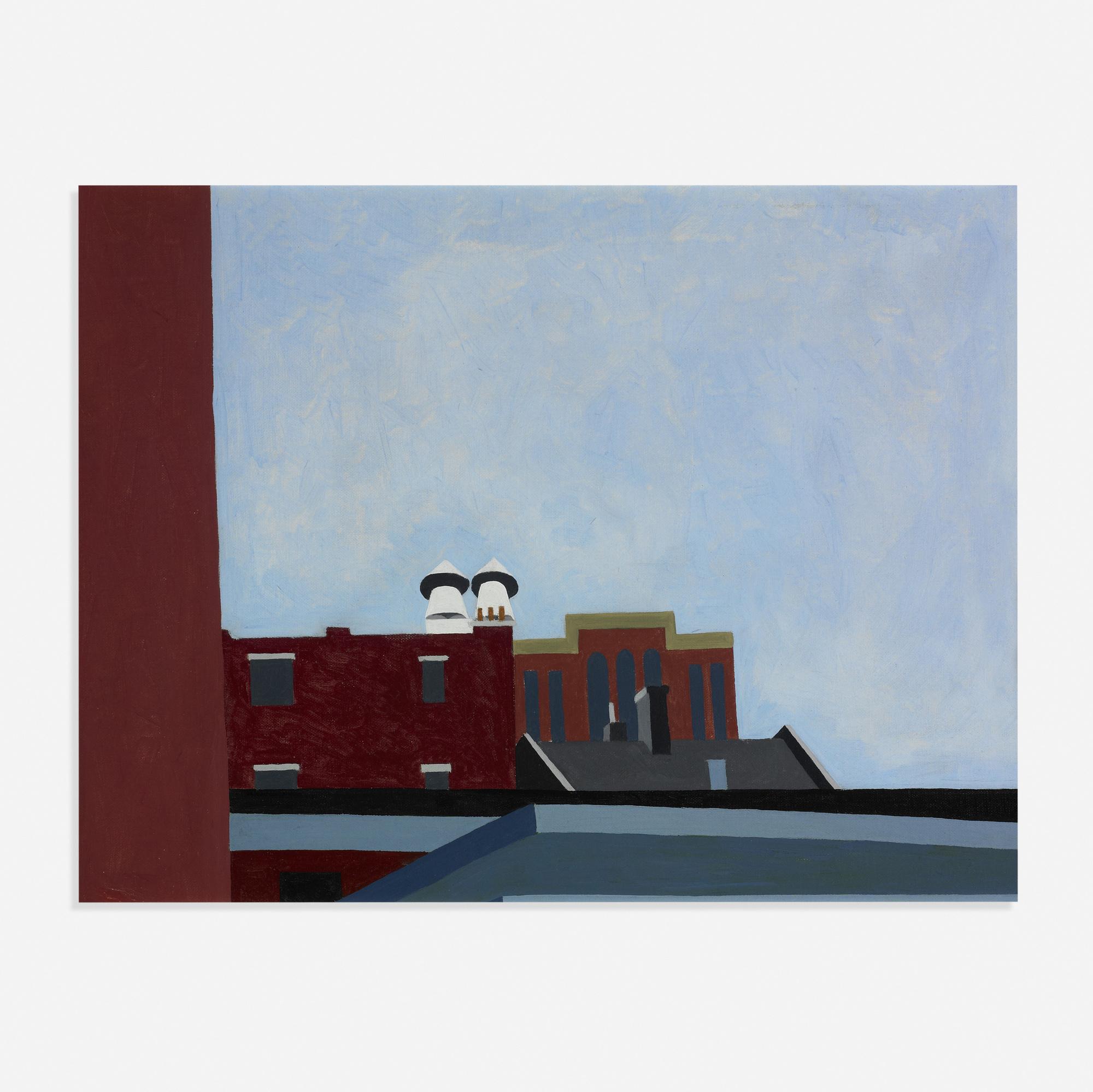 349: Robert Herrmann / View from Library Garden (1 of 1)