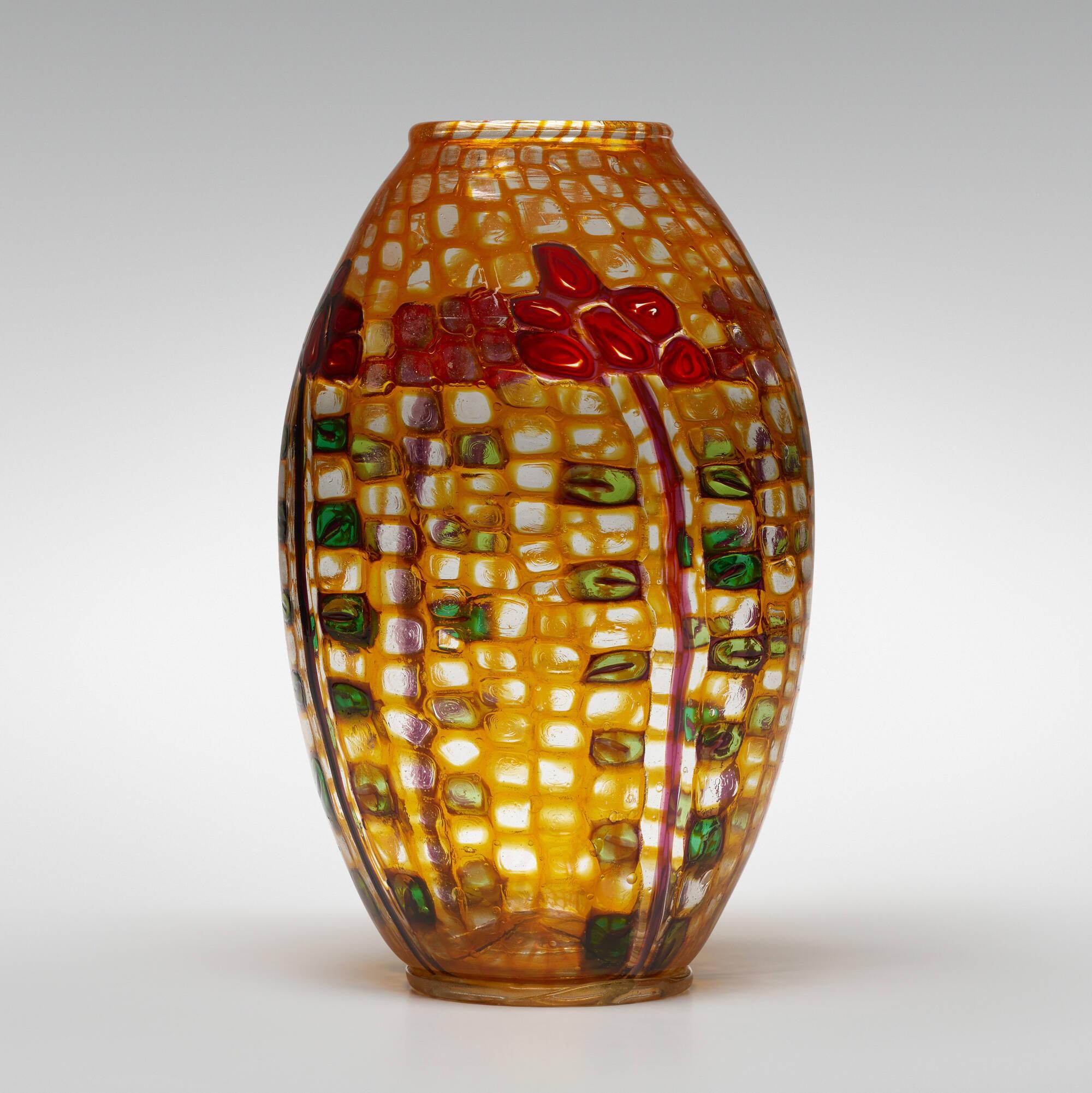 34: Ercole Barovier / Important Mosaico vase (1 of 4)