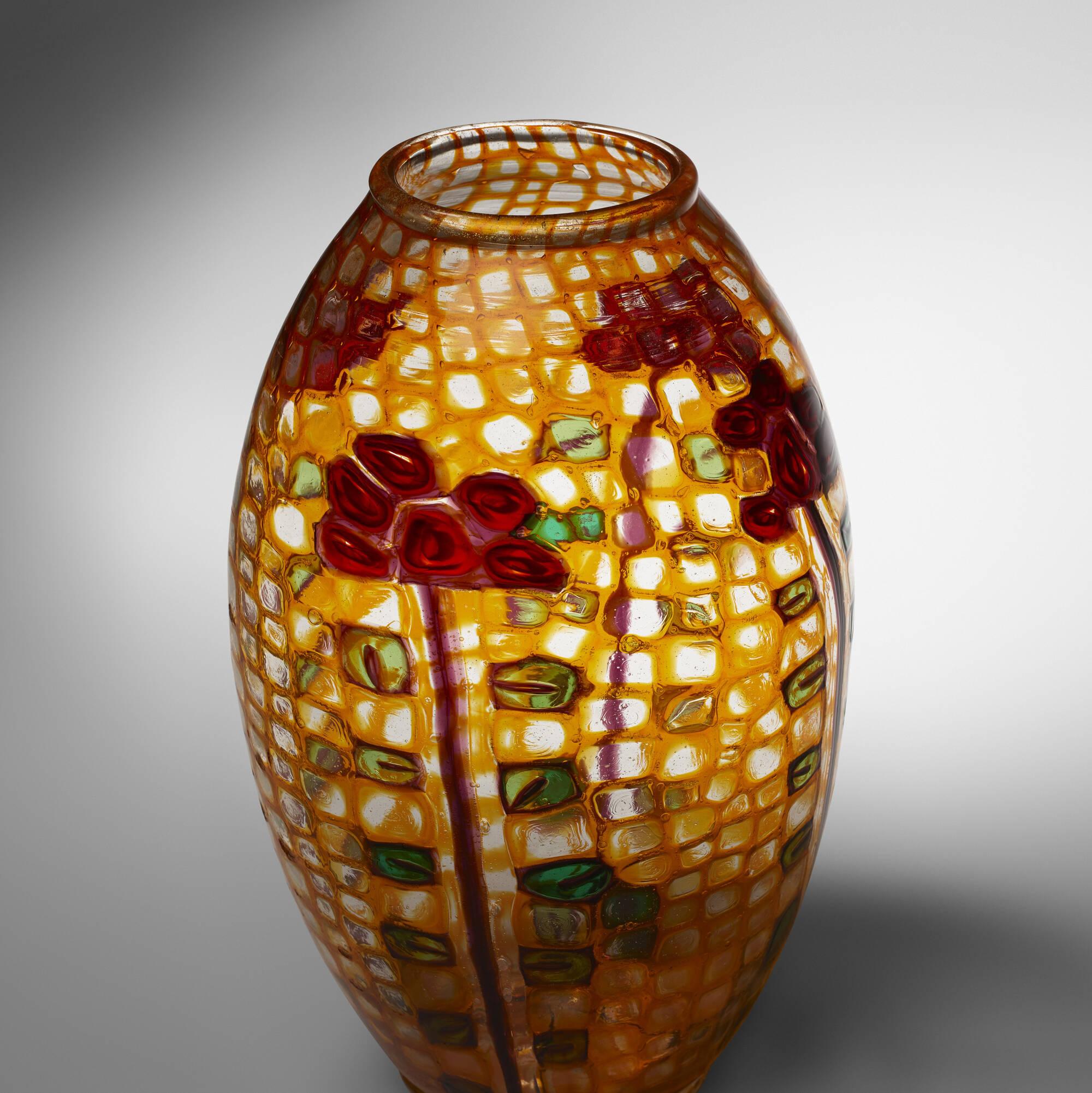 34: Ercole Barovier / Important Mosaico vase (2 of 4)