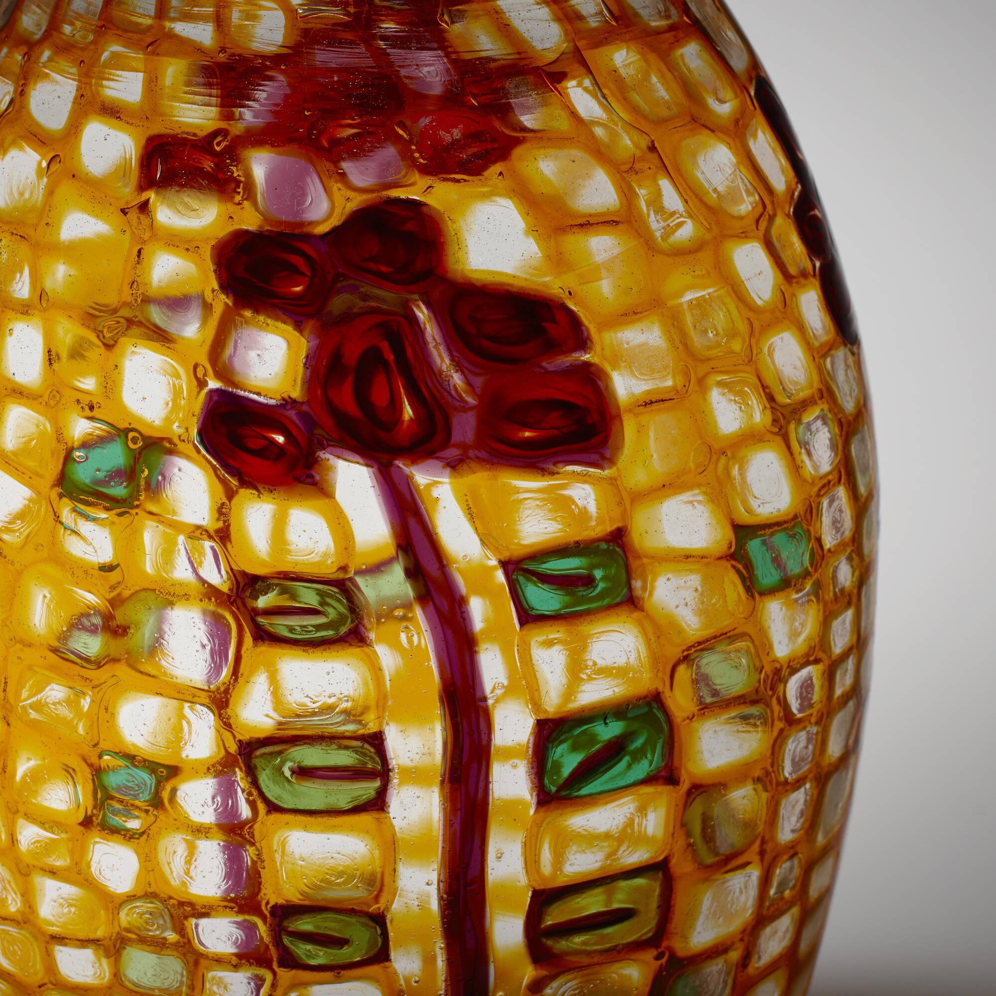 34: Ercole Barovier / Important Mosaico vase (3 of 4)