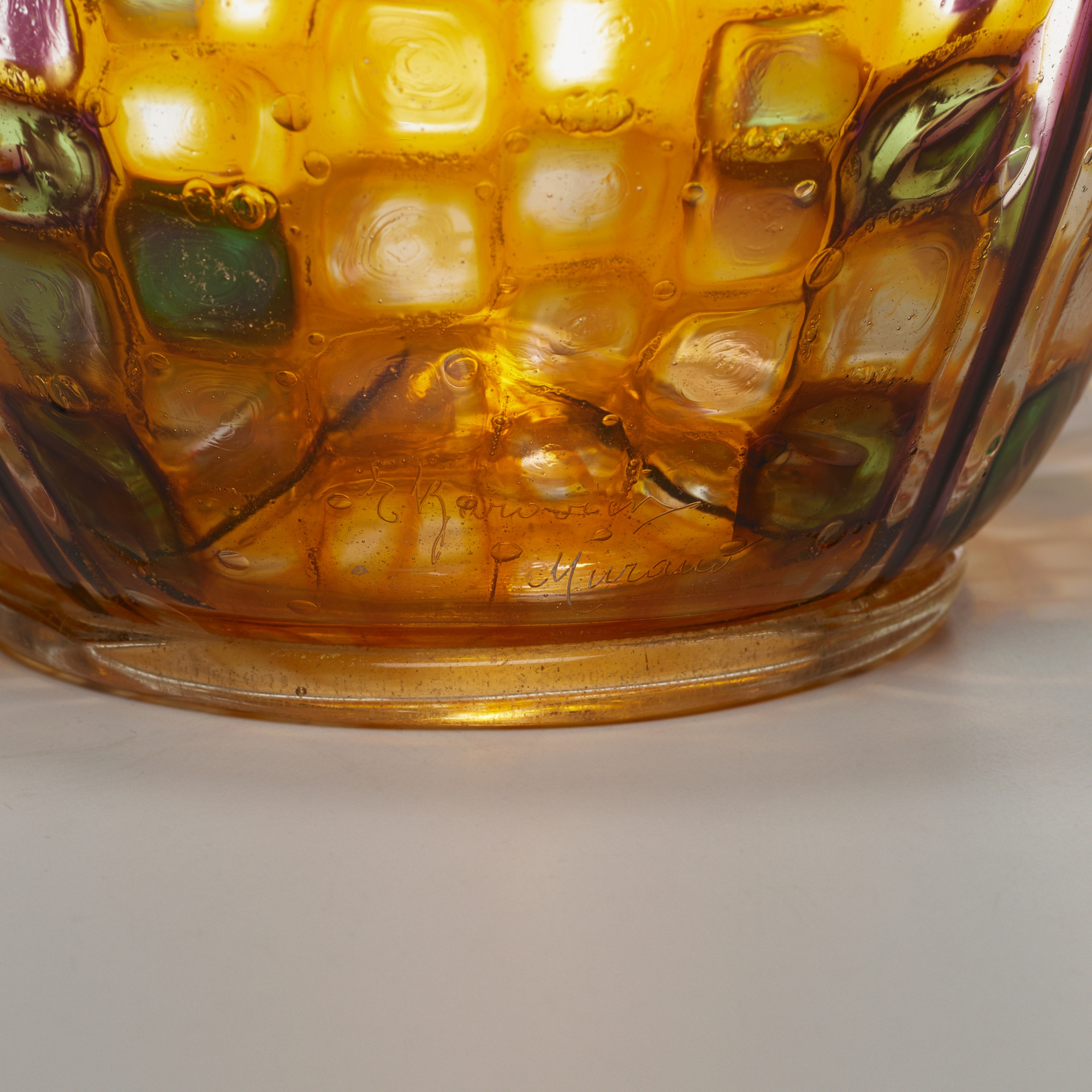 34: Ercole Barovier / Important Mosaico vase (4 of 4)