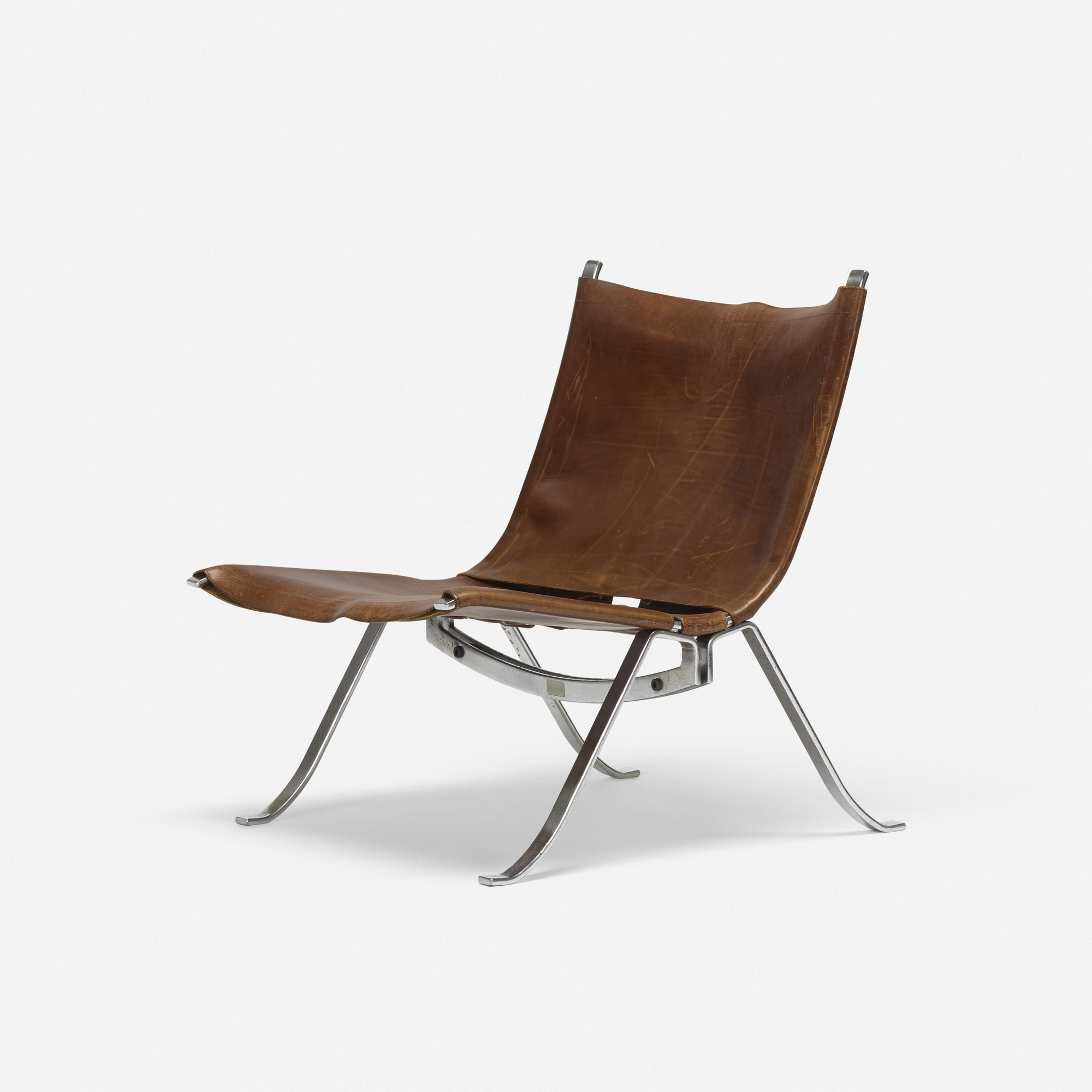 350: Preben Fabricius and Jorgen Kastholm / lounge chair (1 of 4)