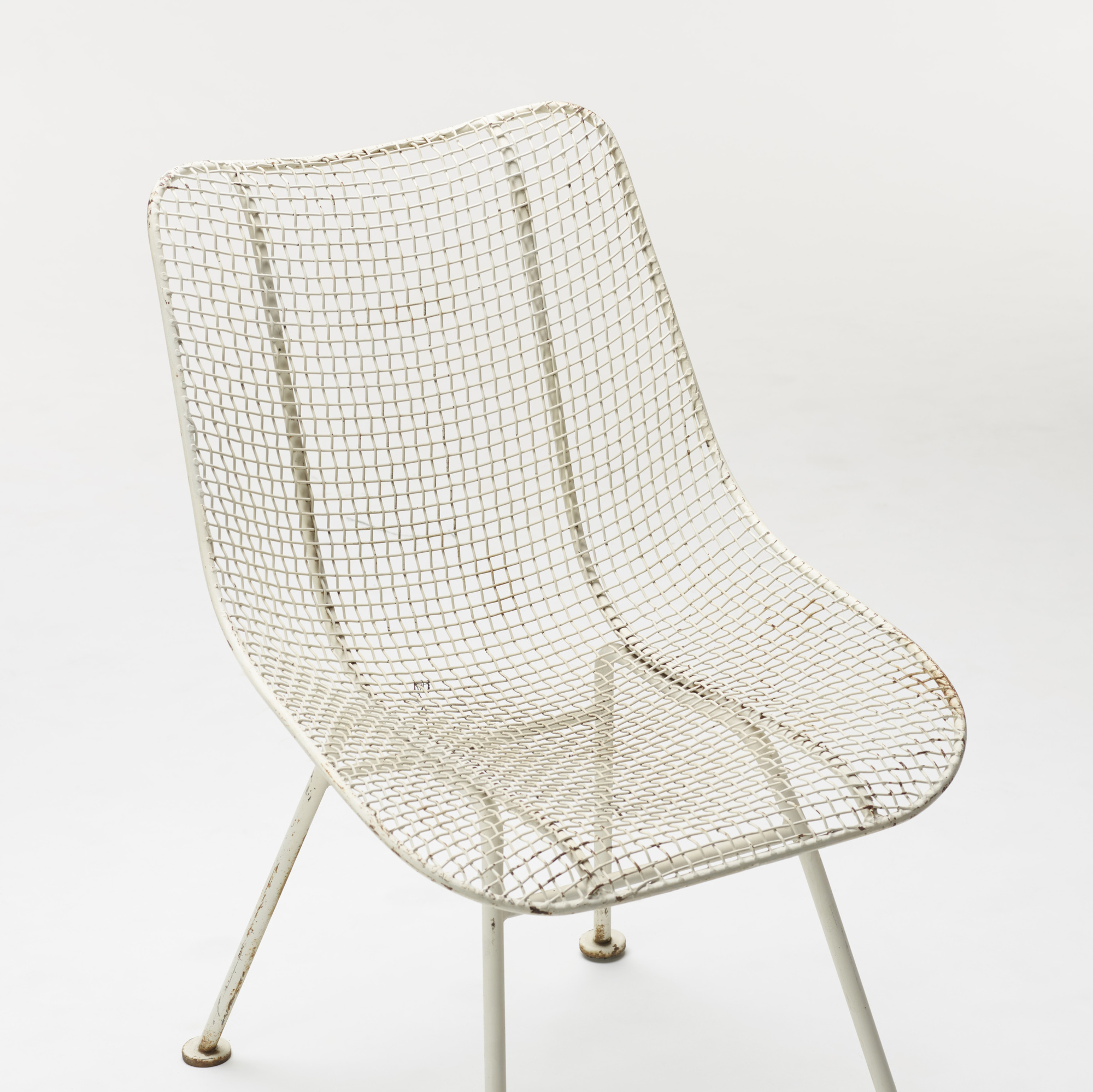 350: Russell Woodard / Sculptura dining chairs, set of six (3 of 3)