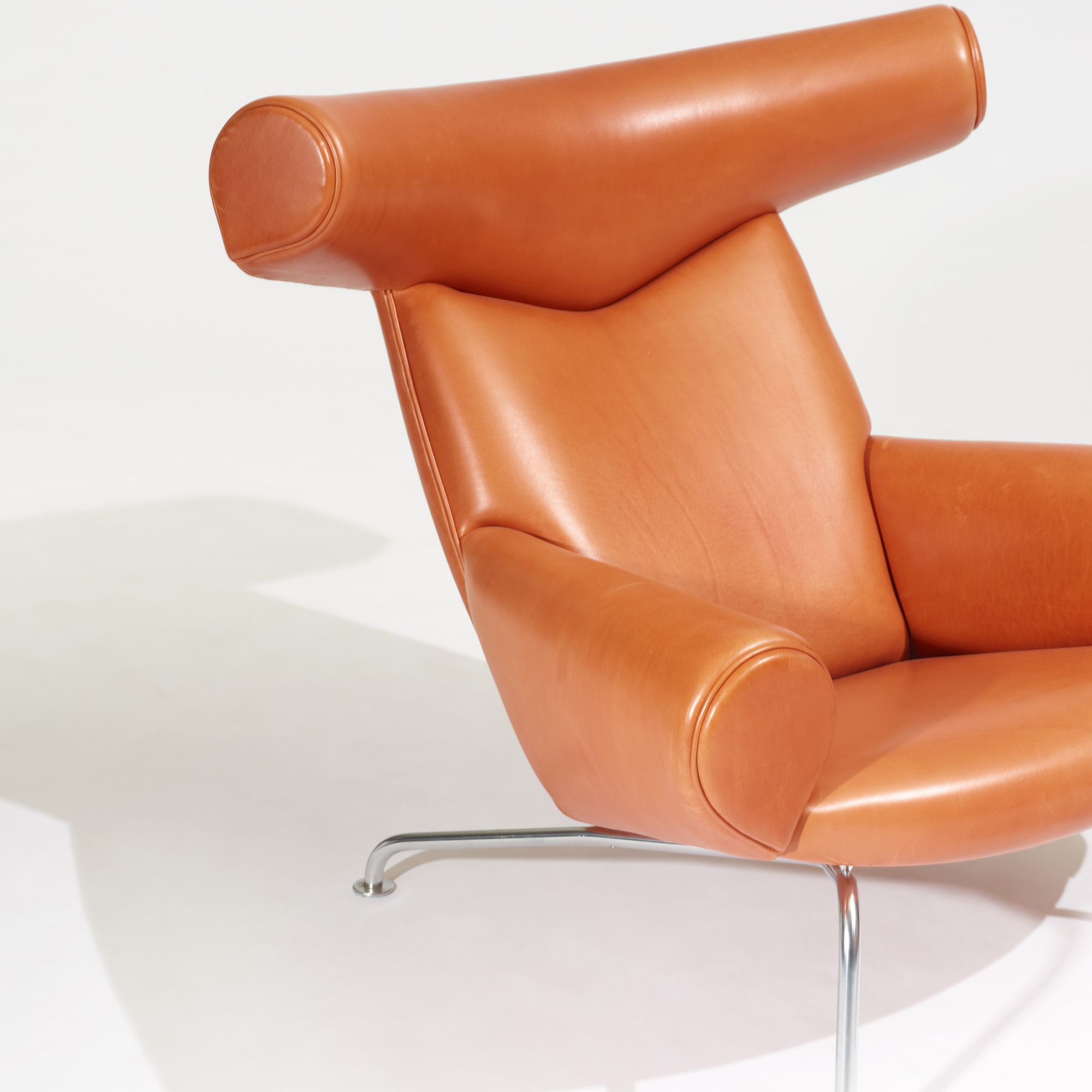 Delicieux ... 352: Hans J. Wegner / Ox Chair And Ottoman (2 Of 2)