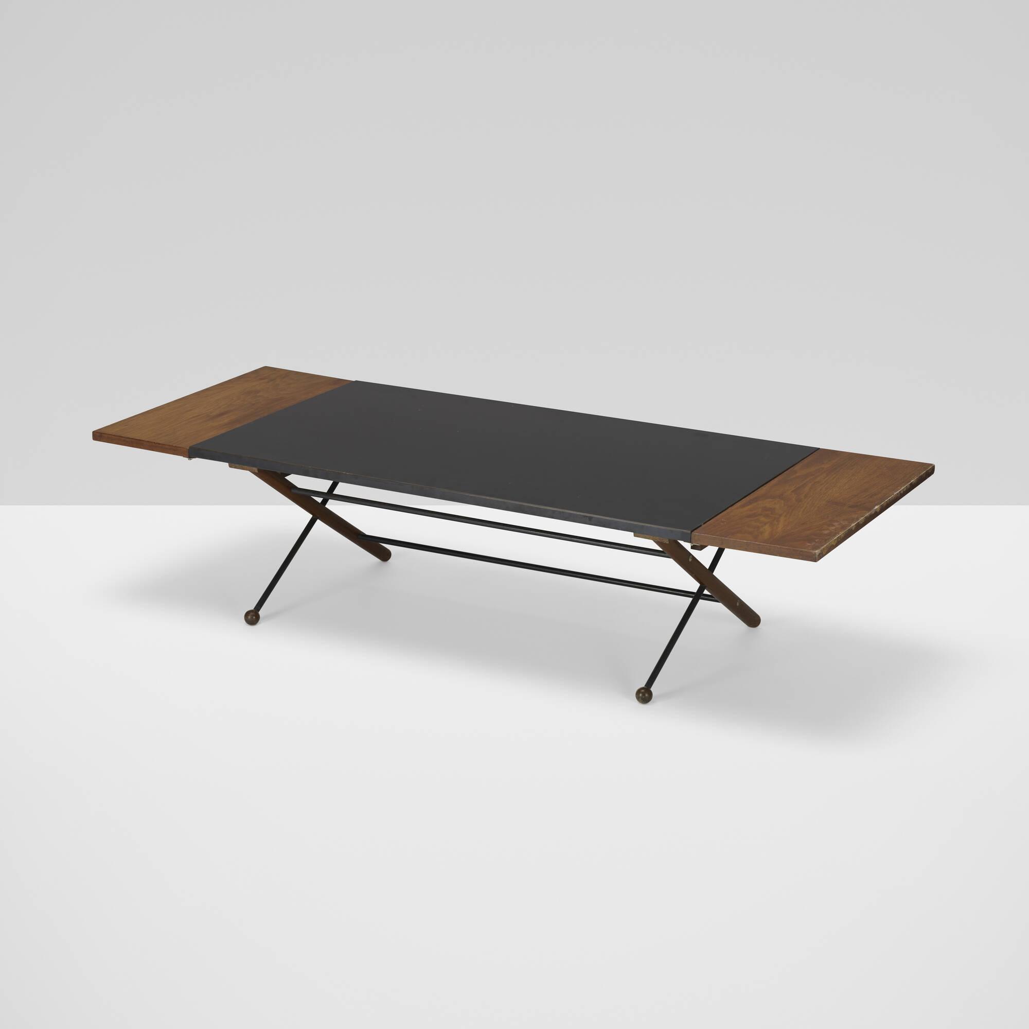 354: Greta Magnusson Grossman / drop-leaf coffee table (1 of 3)
