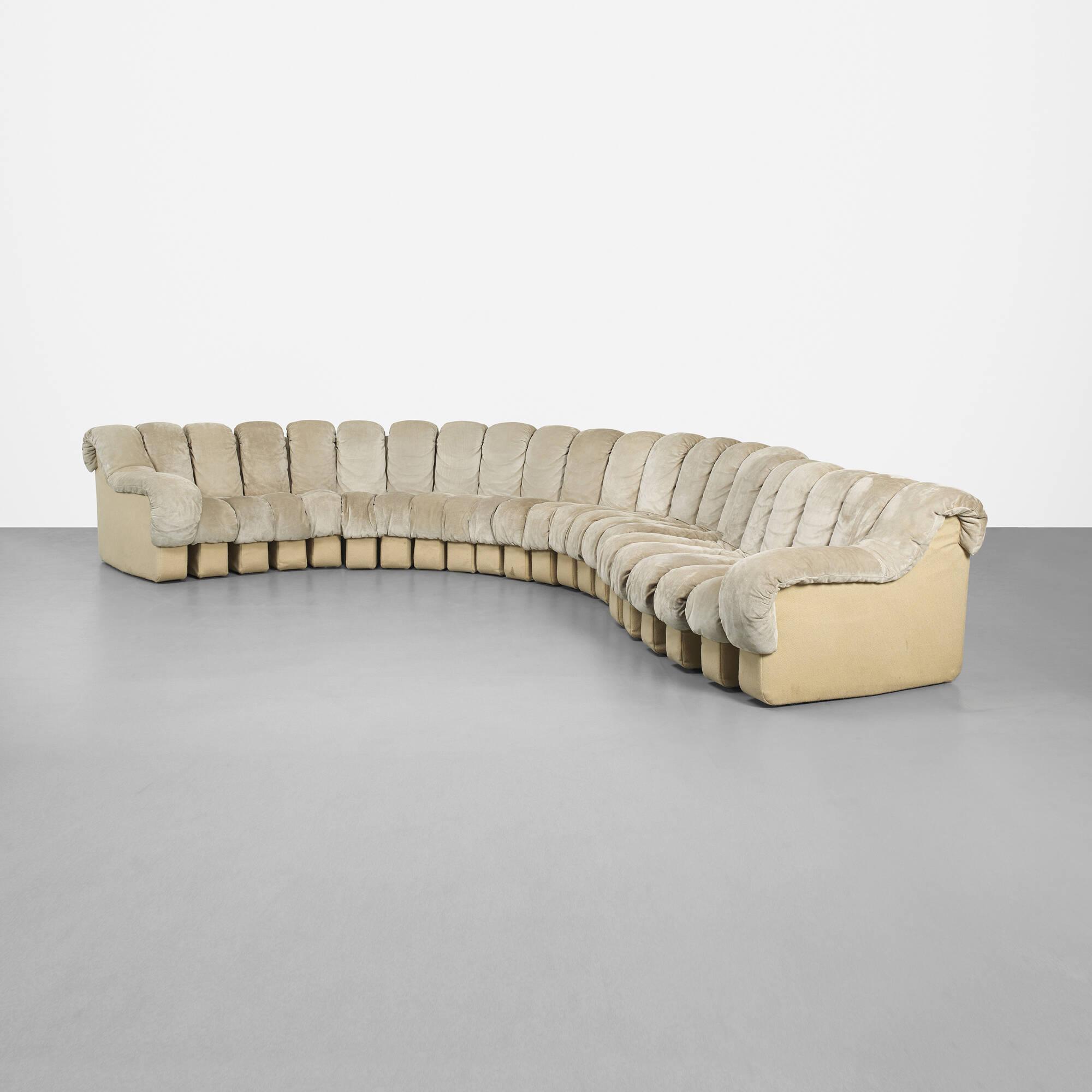 354: Ueli Berger, Eleanora Peduzzi Riva And Heinz Ulrich / DS 600 Organic  Sofa (1 Of 3) ...