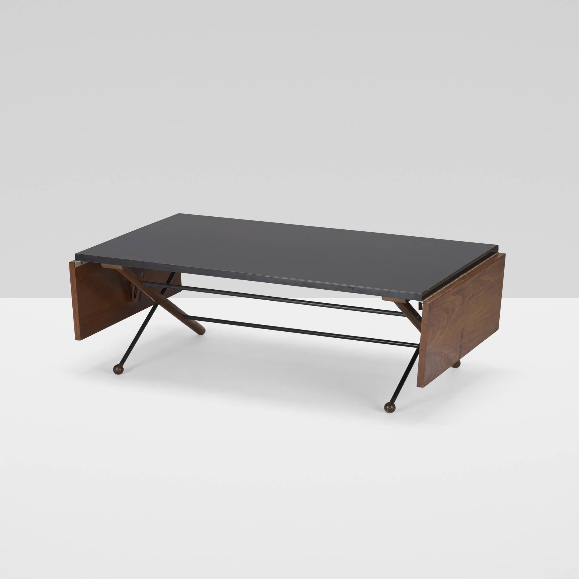 354: Greta Magnusson Grossman / drop-leaf coffee table (2 of 3)