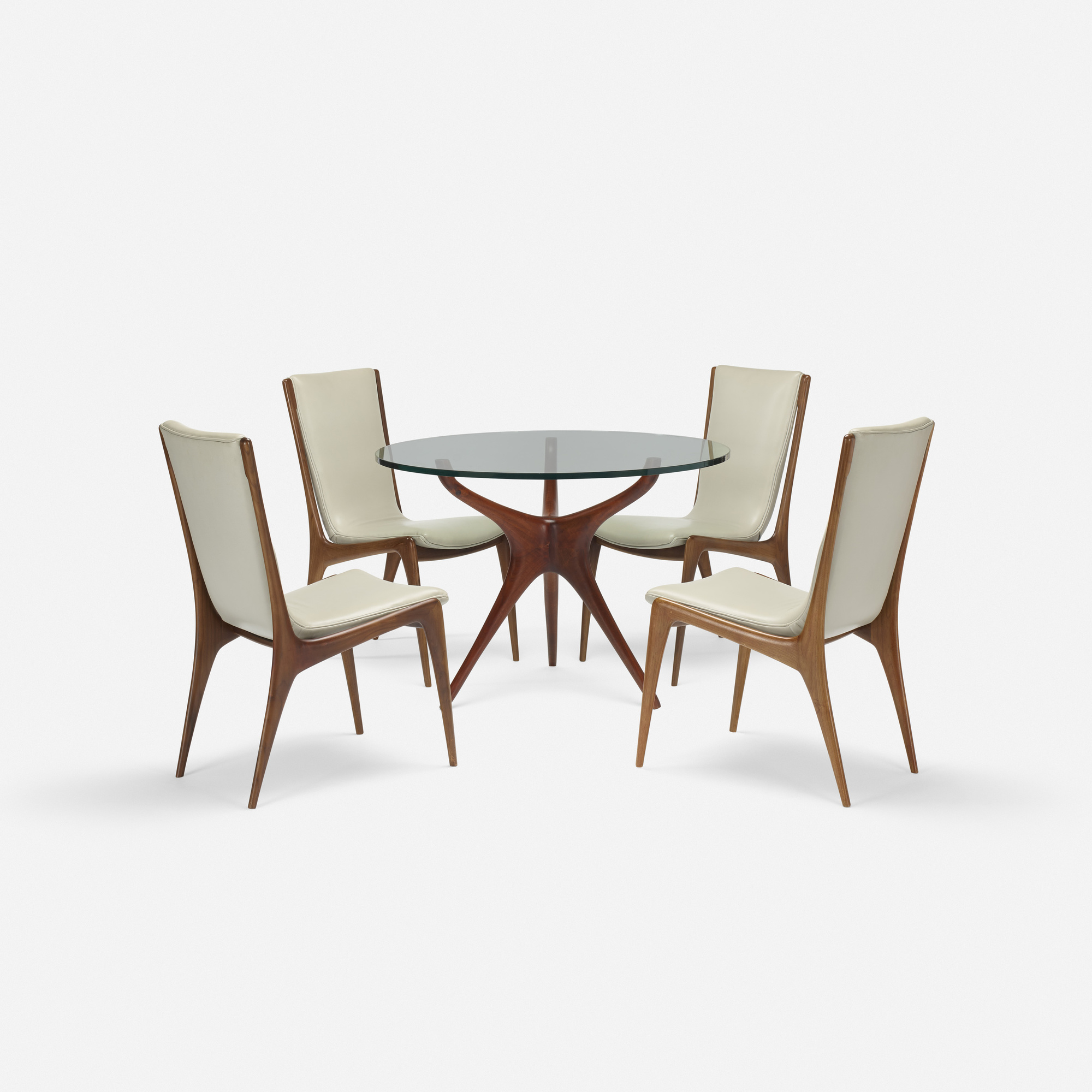 354: Vladimir Kagan / Tri-symmetric dining table (2 of 3)