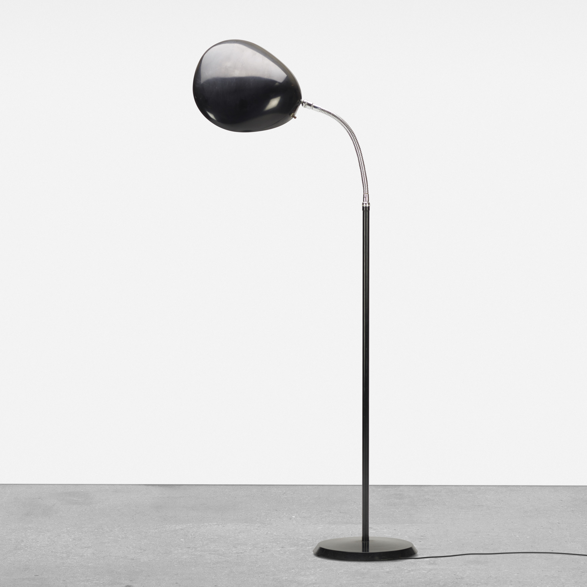 355: Greta Magnusson Grossman / Cobra floor lamp (1 of 2)