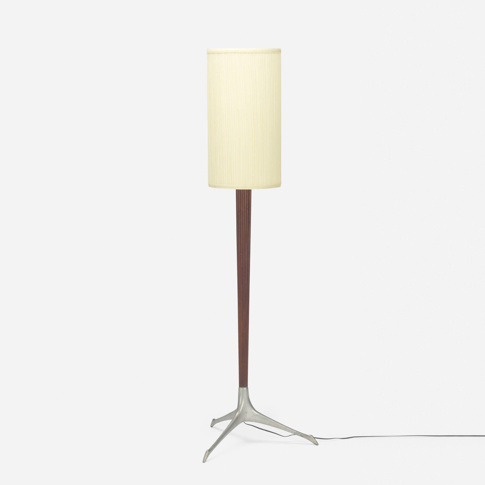 355: Vladimir Kagan / floor lamp (1 of 2)