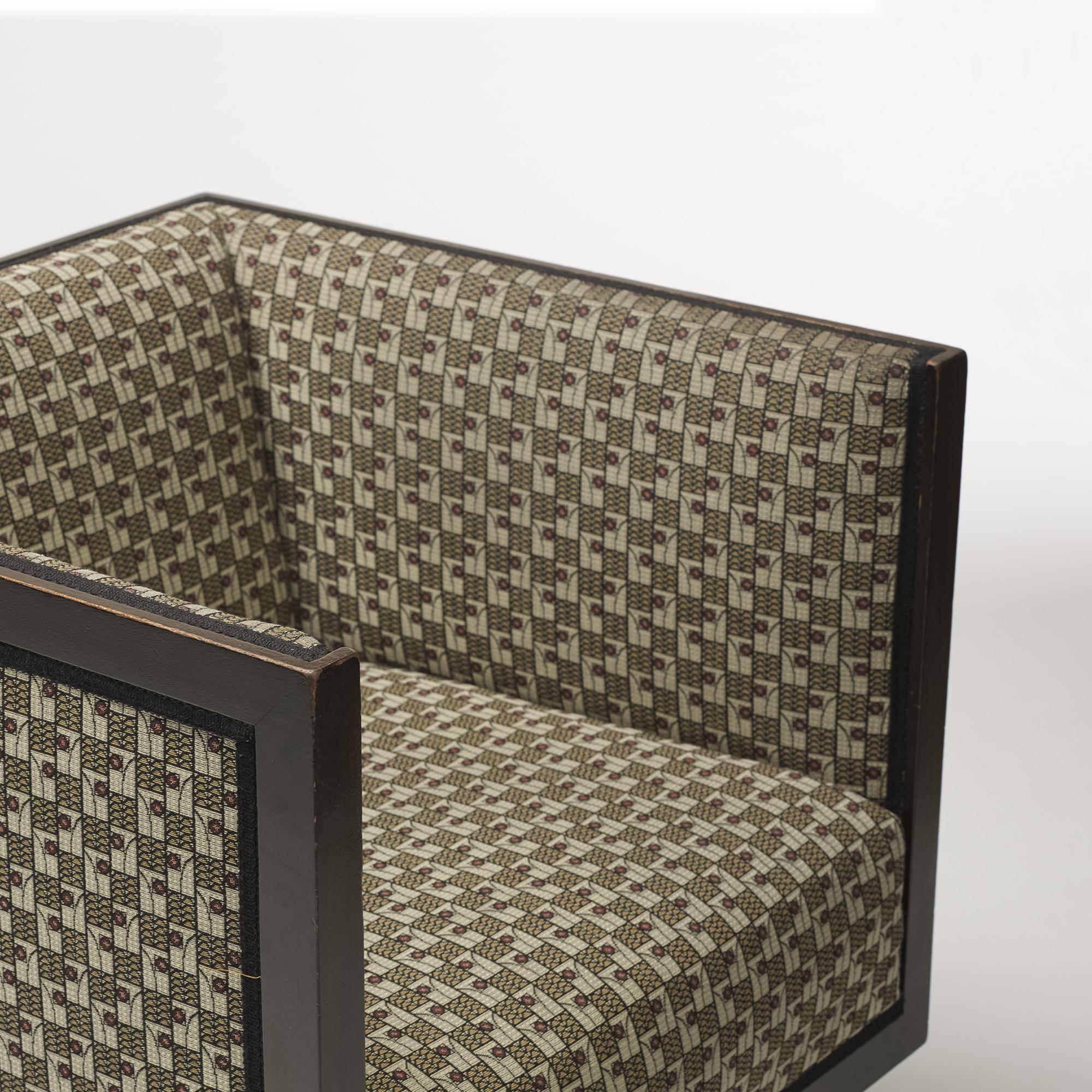 355: Josef Hoffmann / Cabinett lounge chairs, pair (4 of 5)