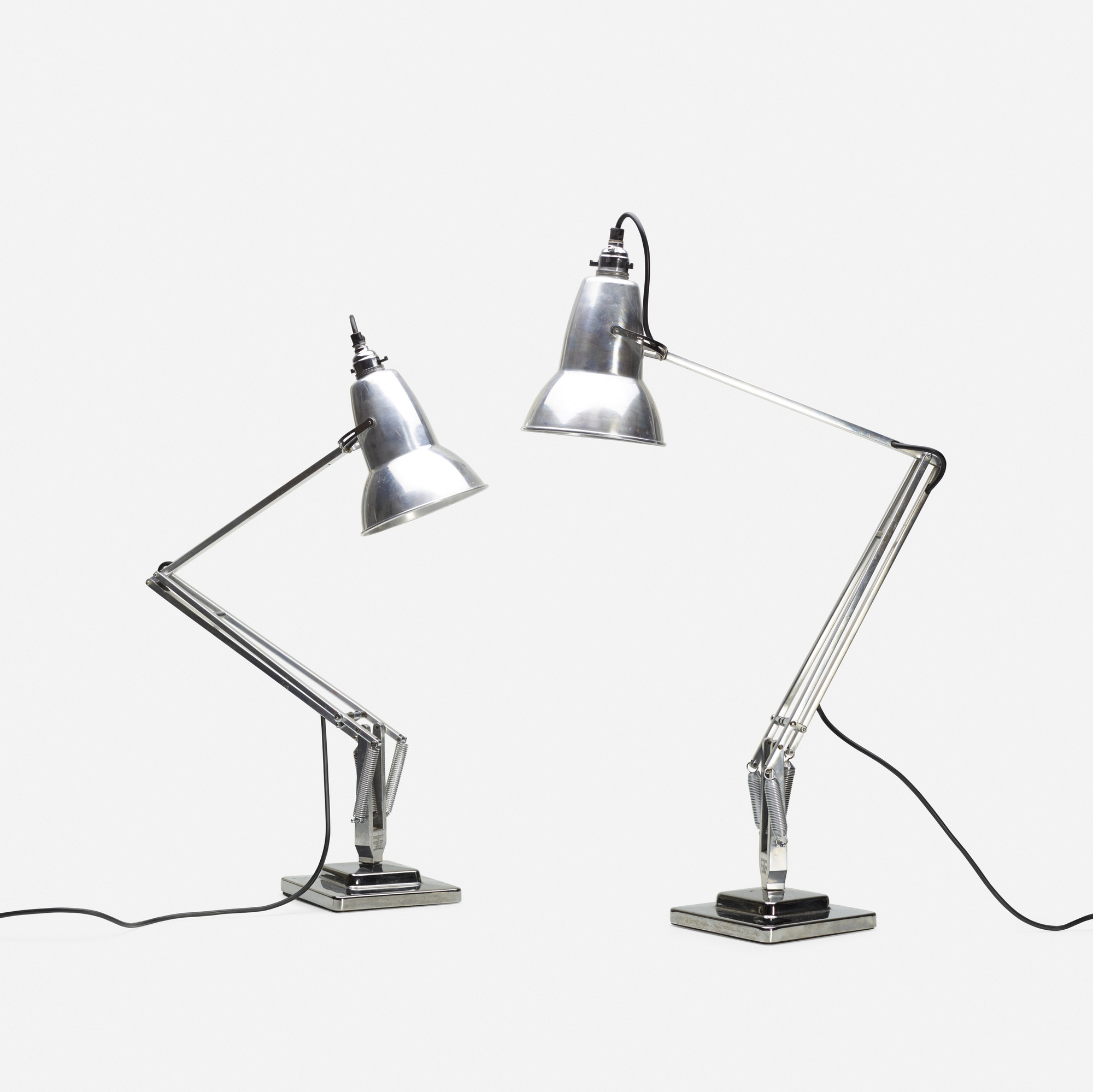356: George Carwardine / Anglepoise lamps, pair (1 of 2)