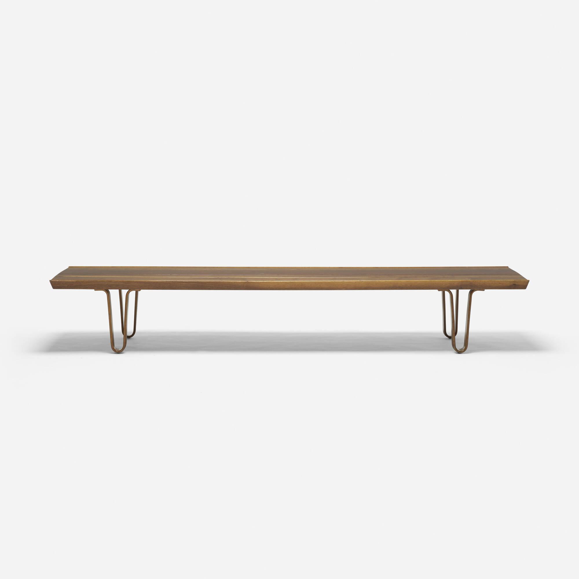 356: Edward Wormley / Long John coffee table (2 of 3)