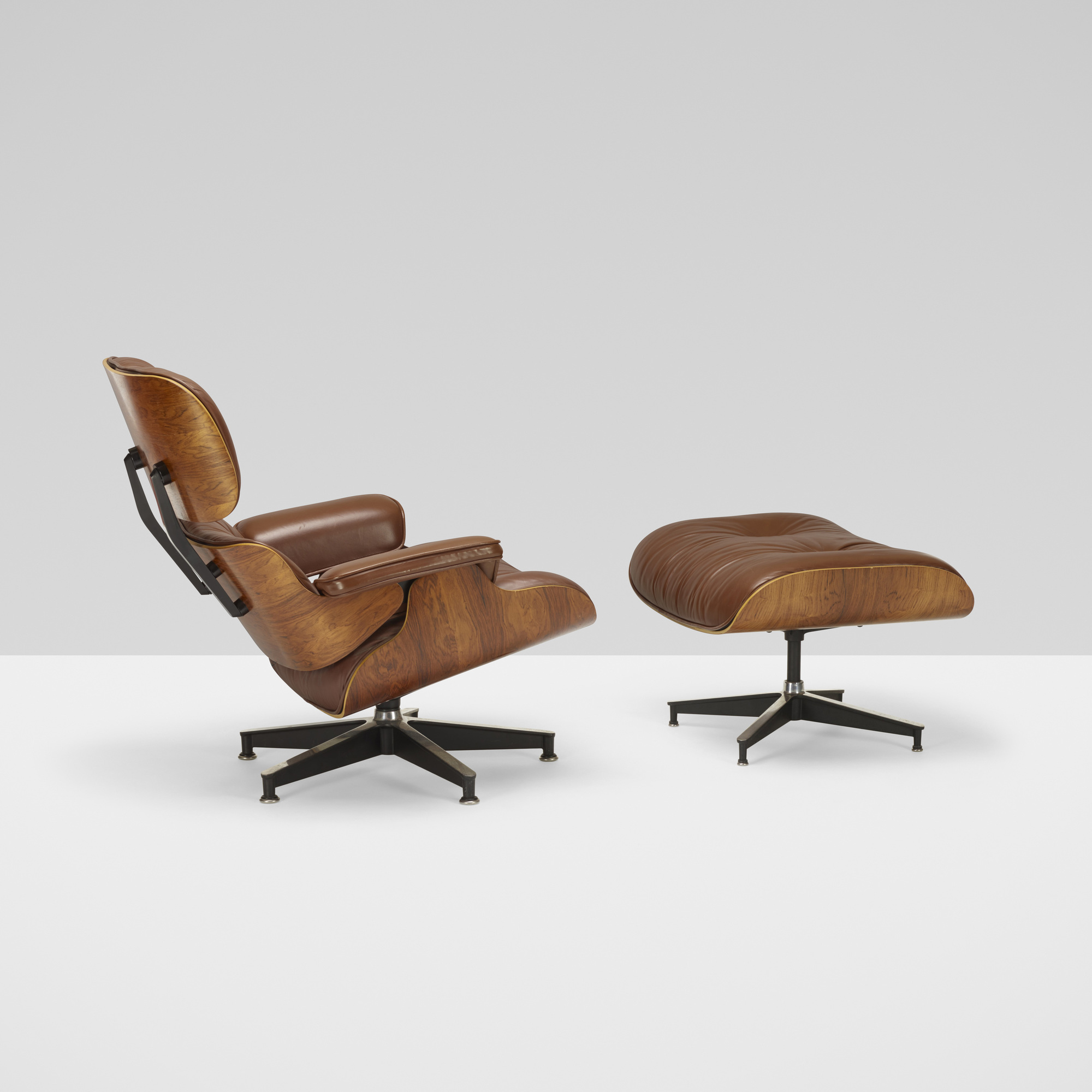357: Charles and Ray Eames / 670 lounge chair and 671 ottoman (2 of 6)